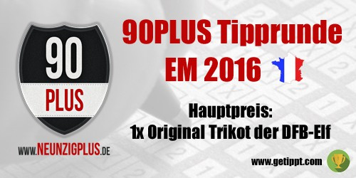 Die Gewinner der großen 90PLUS EM-Tipprunde!