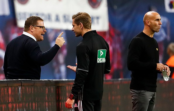 Eberl gibt Schmidt Rückendeckung