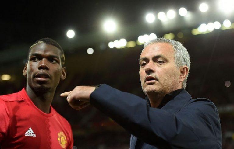 """Mourinho über Pogba: """"Geht darum, dass er sein Bestmögliches auch gibt"""""""