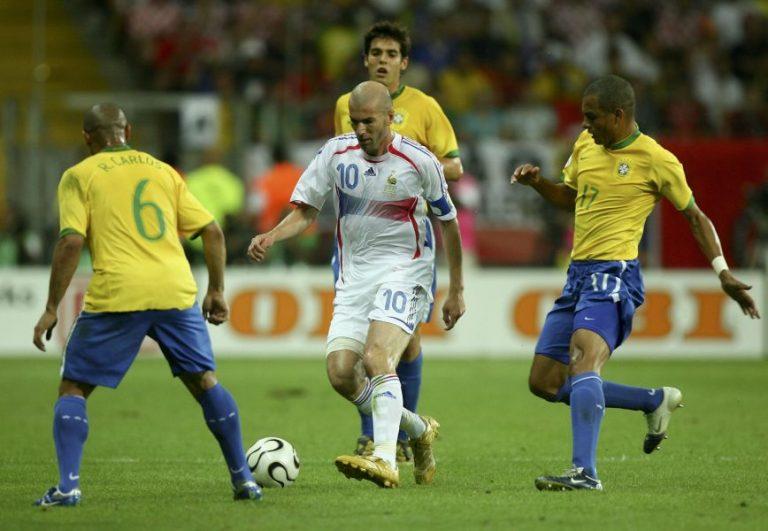 Weißt du noch? 01.07.2006 – Als Zidane gegen Brasilien zauberte