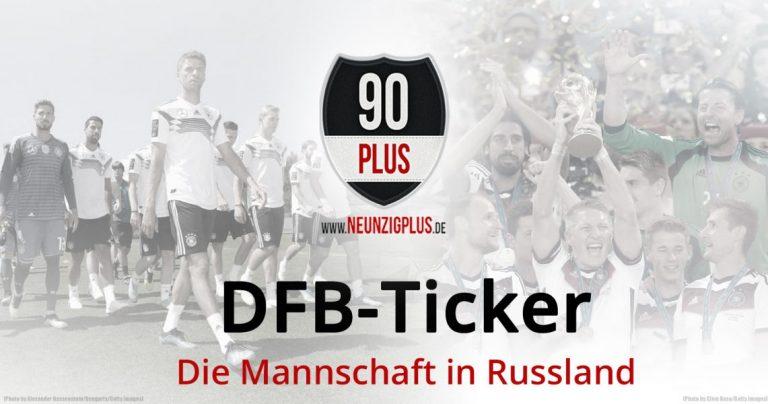 WM 2018 | Der DFB-Ticker: Rudy fällt aus, Hummels wieder dabei
