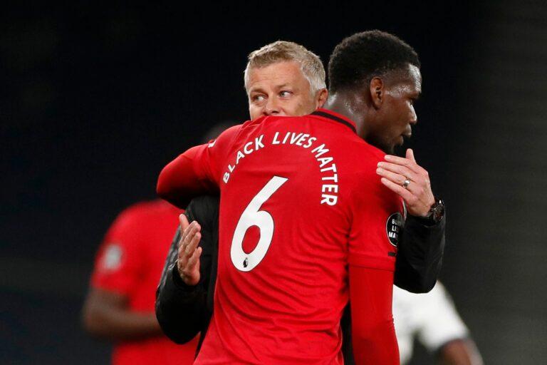 Manchester United: Solskjaer hält Pogba-Verbleib für realistisch