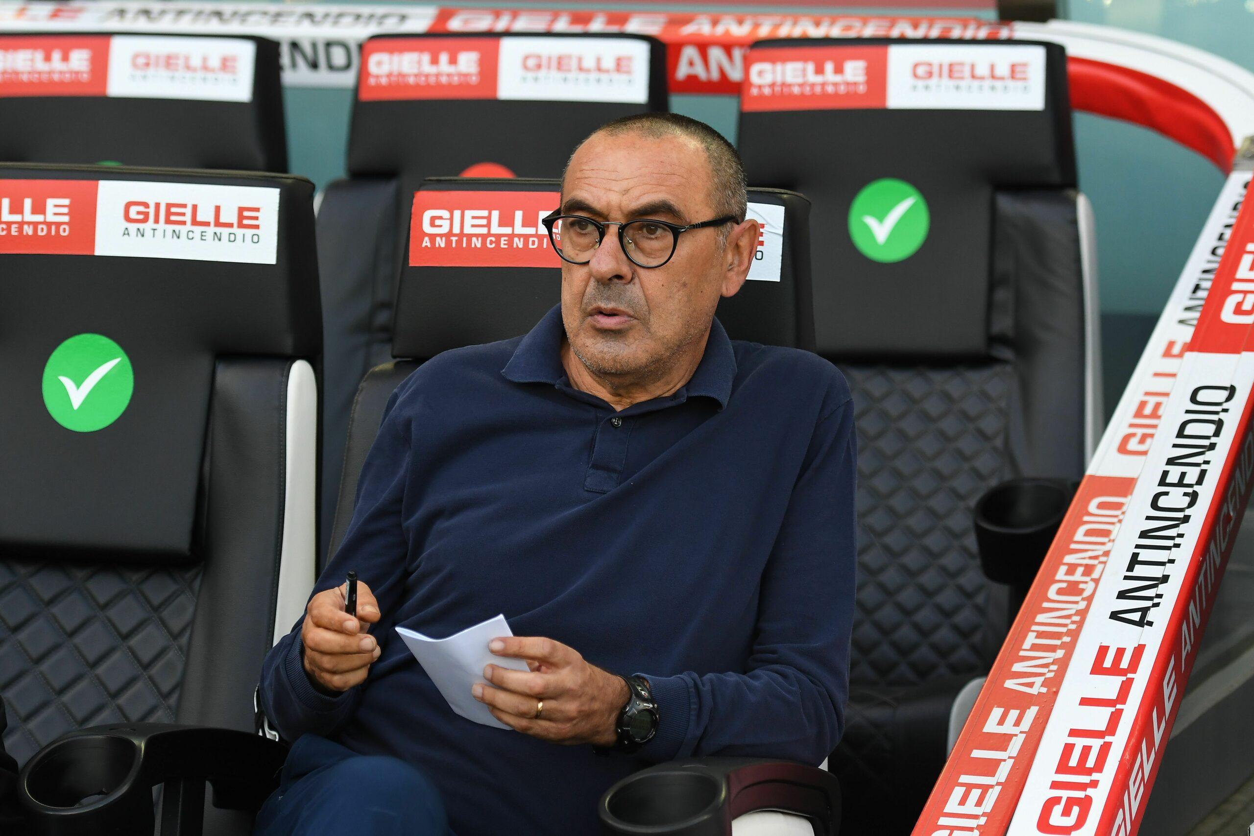 Sarri (Juve) Serie A