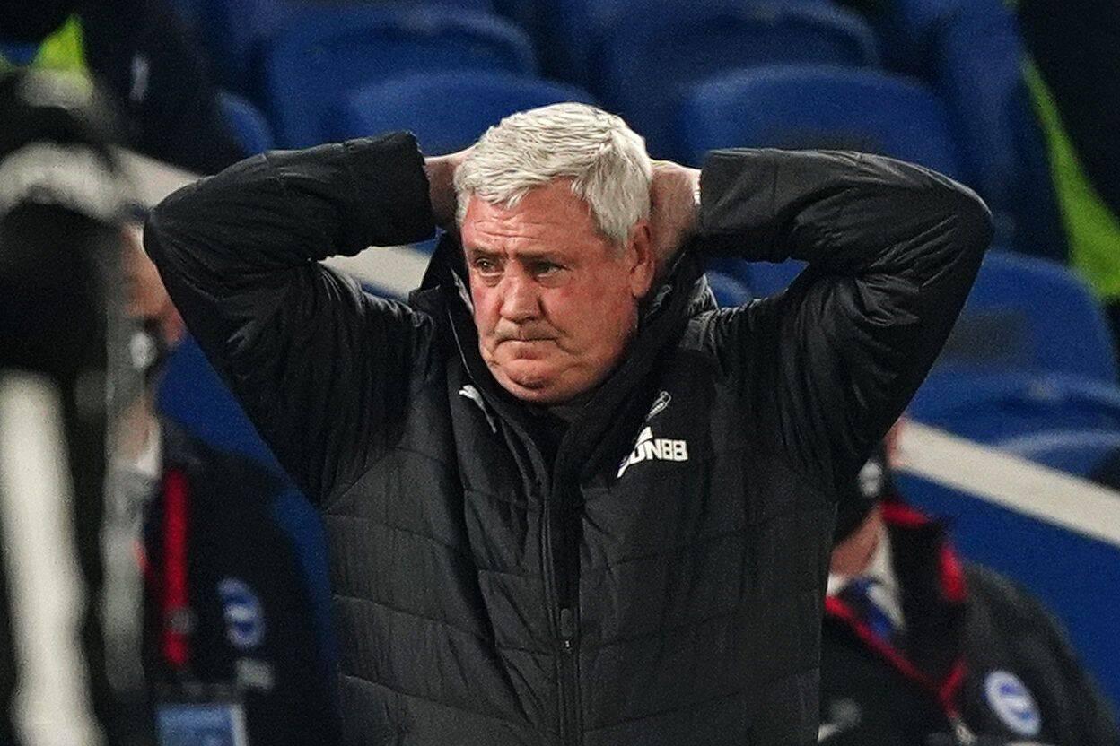 Newcastle United Steve Bruce Trainer