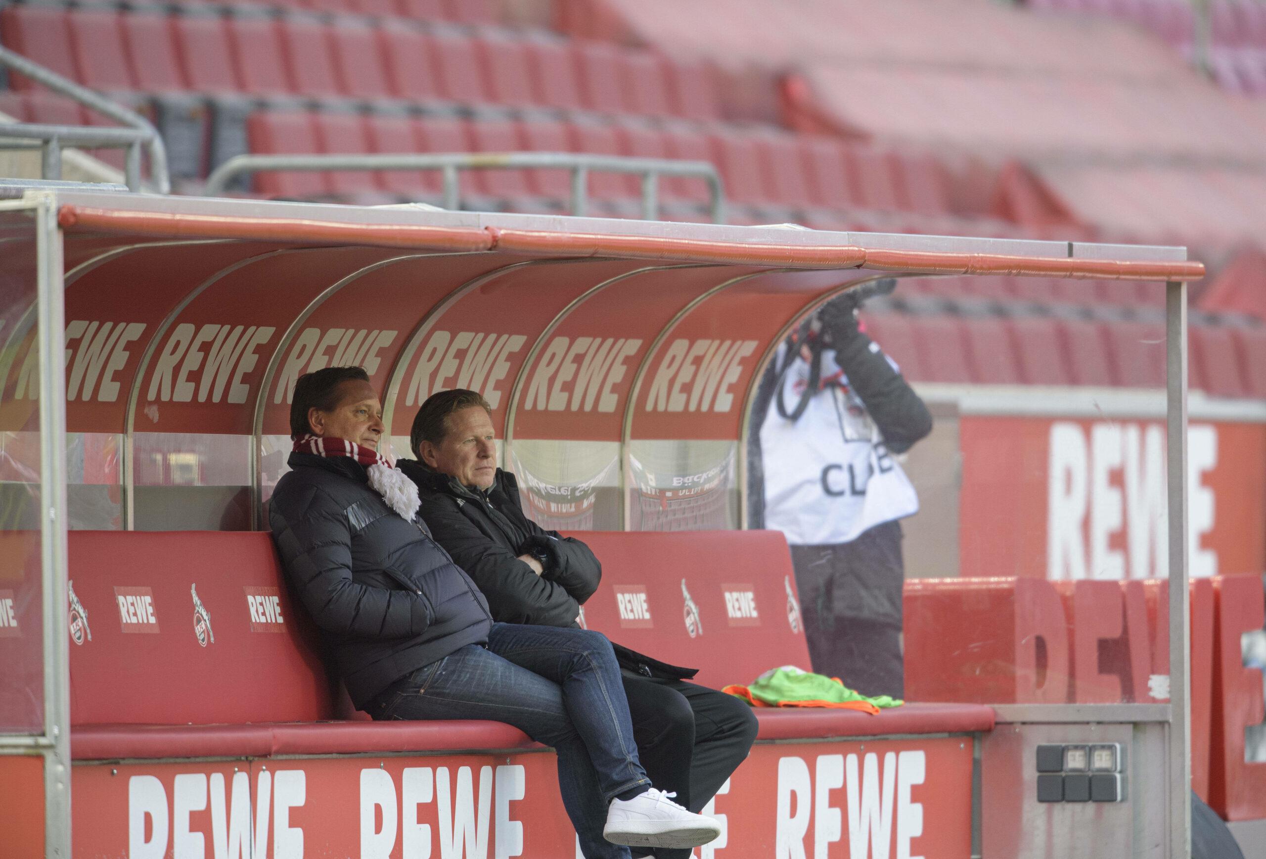 1.FC Köln Heldt Gisdol