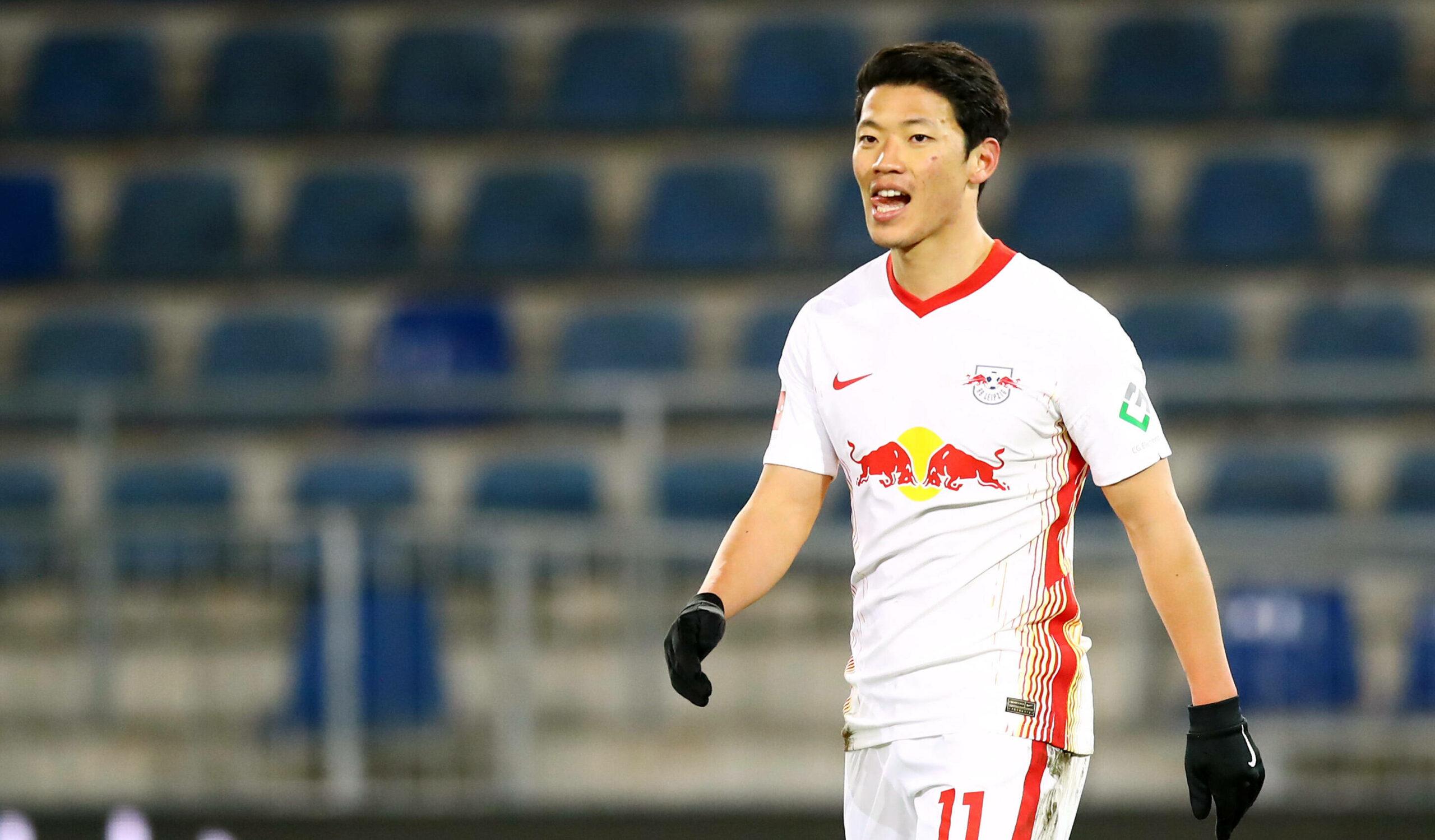 Hee-chan Hwang (RB Leipzig) gegen Bielefeld