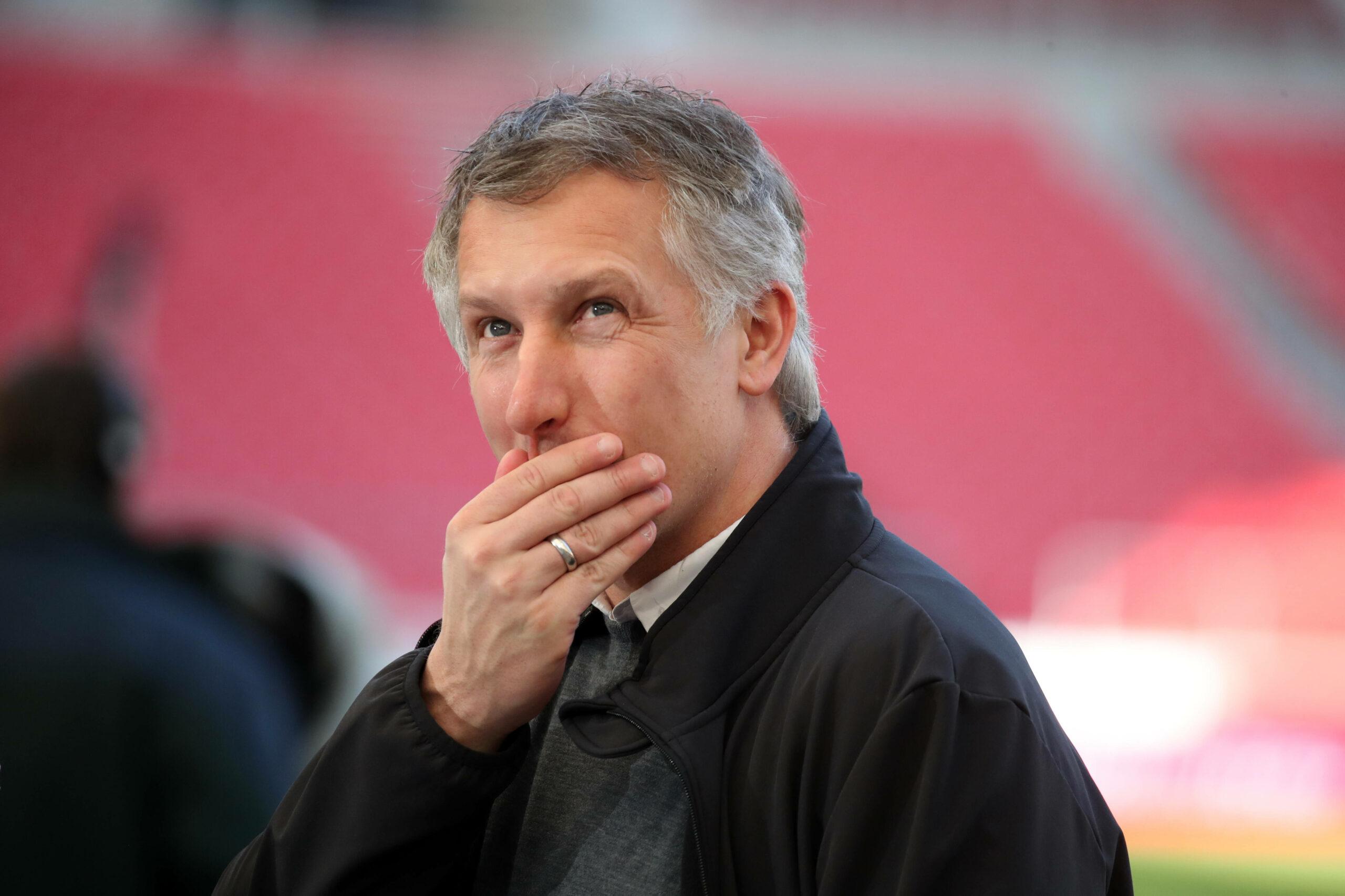 Frank Baumann (Werder Bremen) beim Spiel gegen den VfB Stuttgart