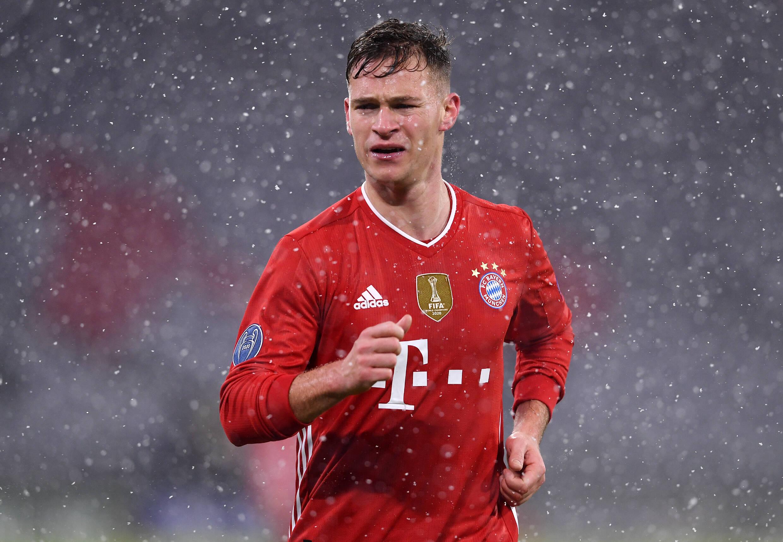 Kimmich (FC Bayern) gegen PSG