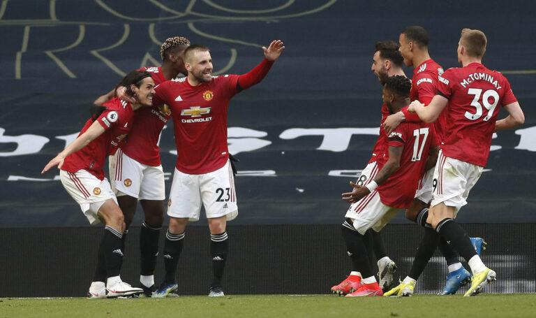 Cavani! Manchester United dreht das Topspiel bei den Tottenham Hotspur
