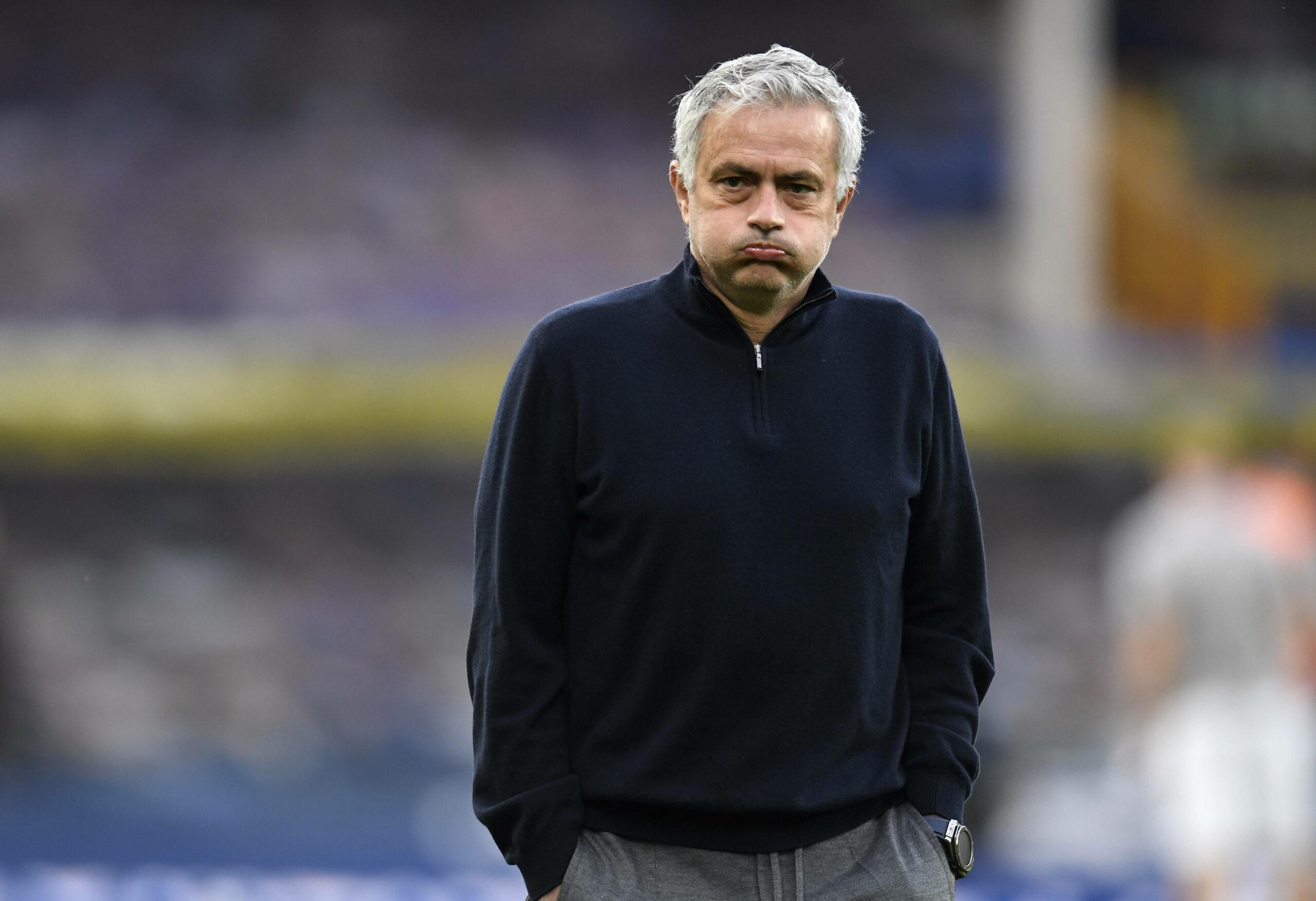 Jose Mourinho (Tottenham) gegen Everton