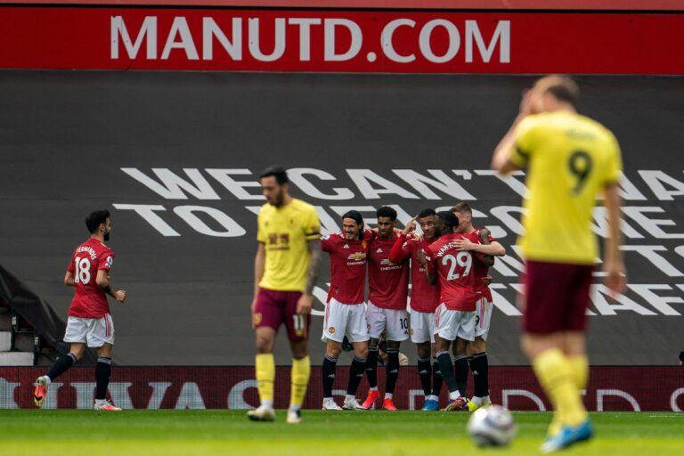 Greenwood und ein bisschen Glück! Manchester United schlägt Burnley knapp