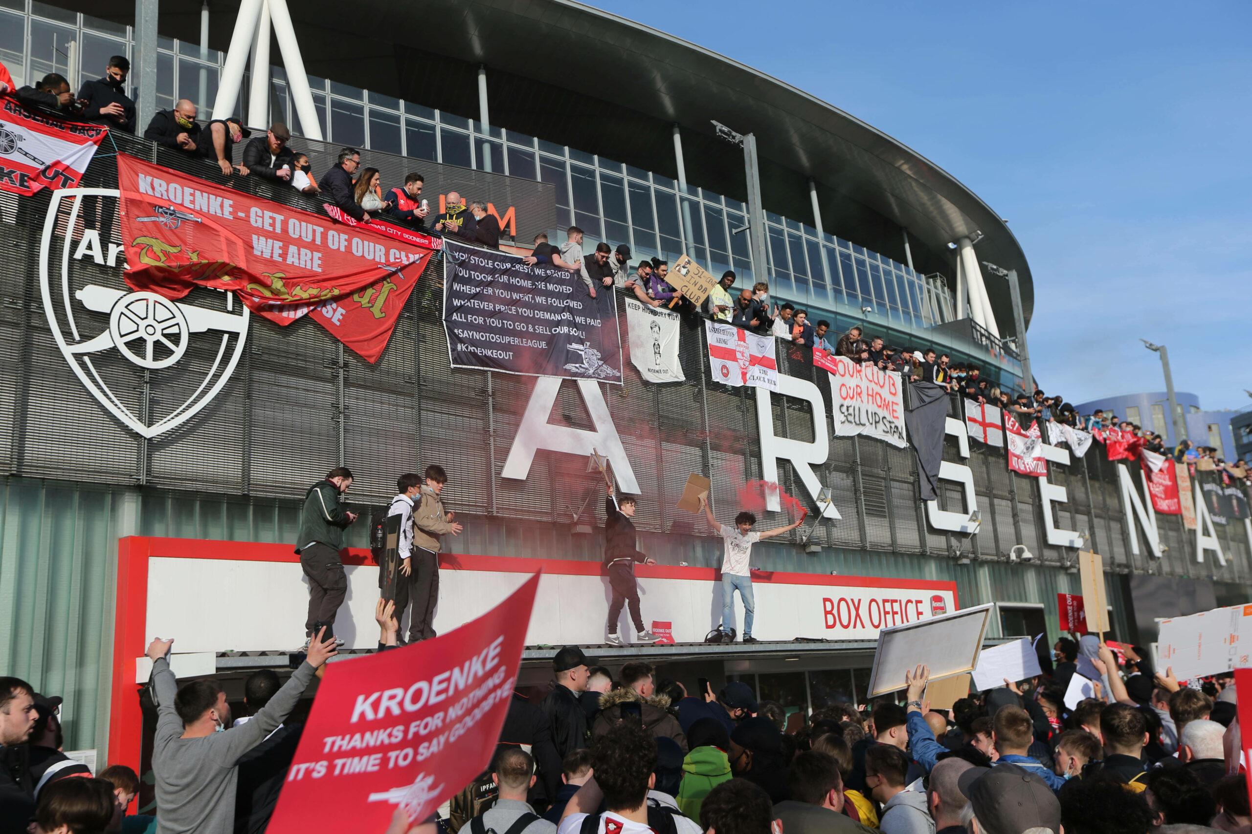 Das Emirates Stadium des FC Arsenal