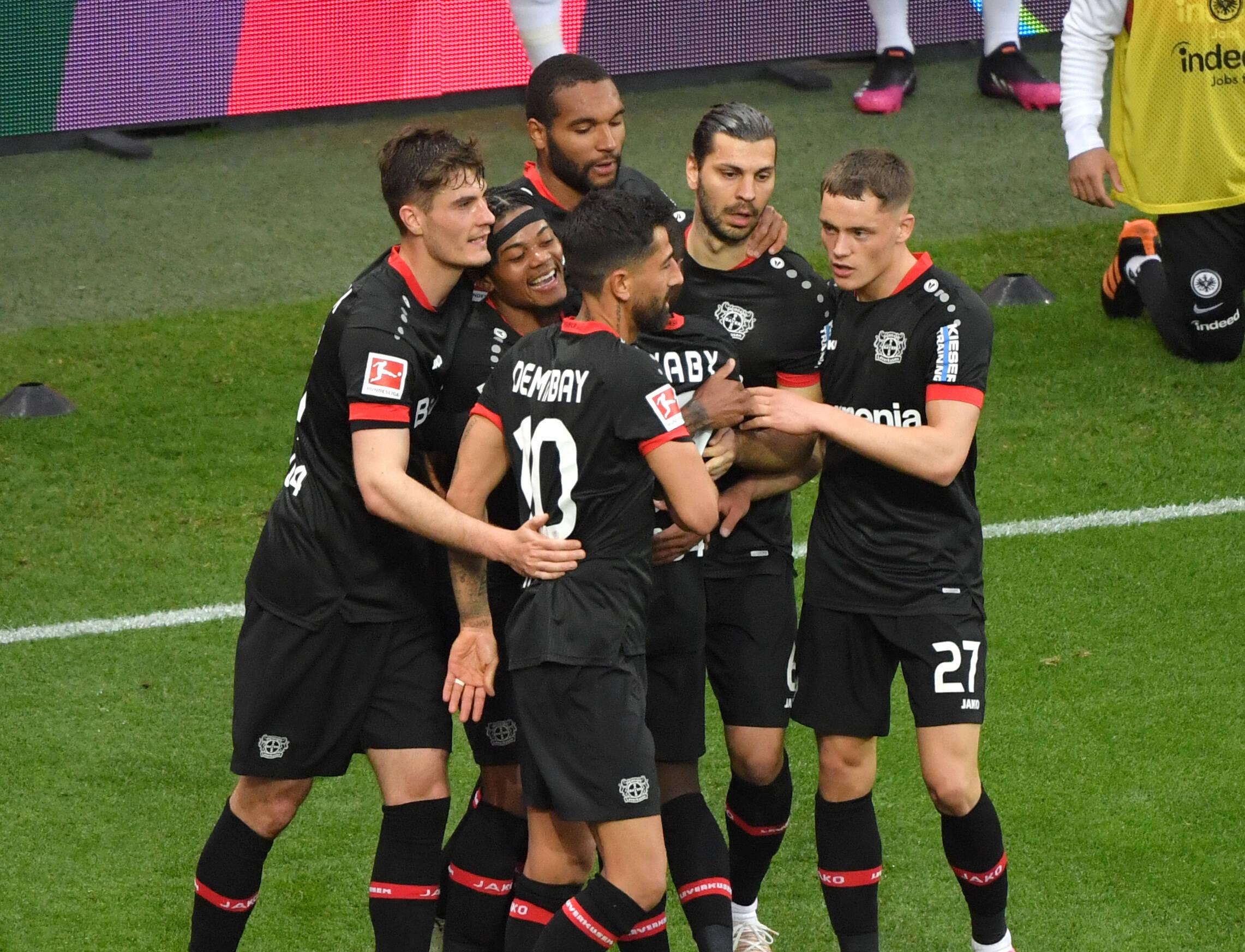 Leverkusen Frankfurt