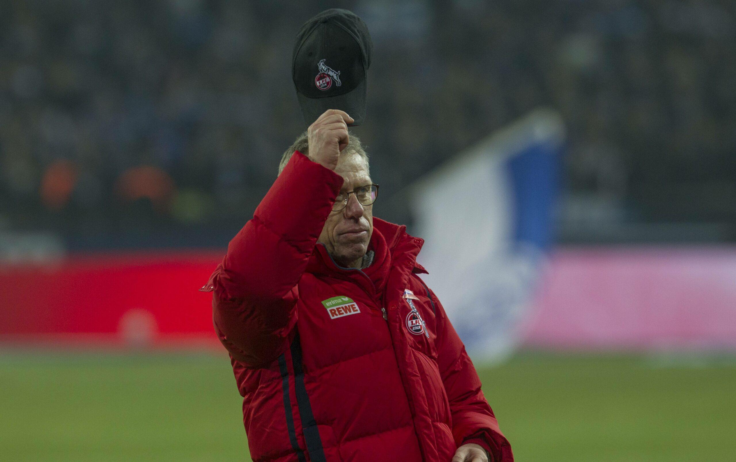 1.FC Köln Stöger Heldt