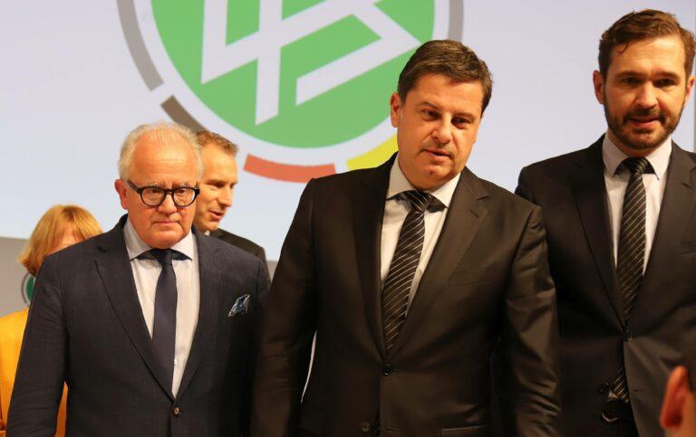 DFL und DFB kritisieren Super-League-Planungen scharf und sprechen sich für CL-Reform aus