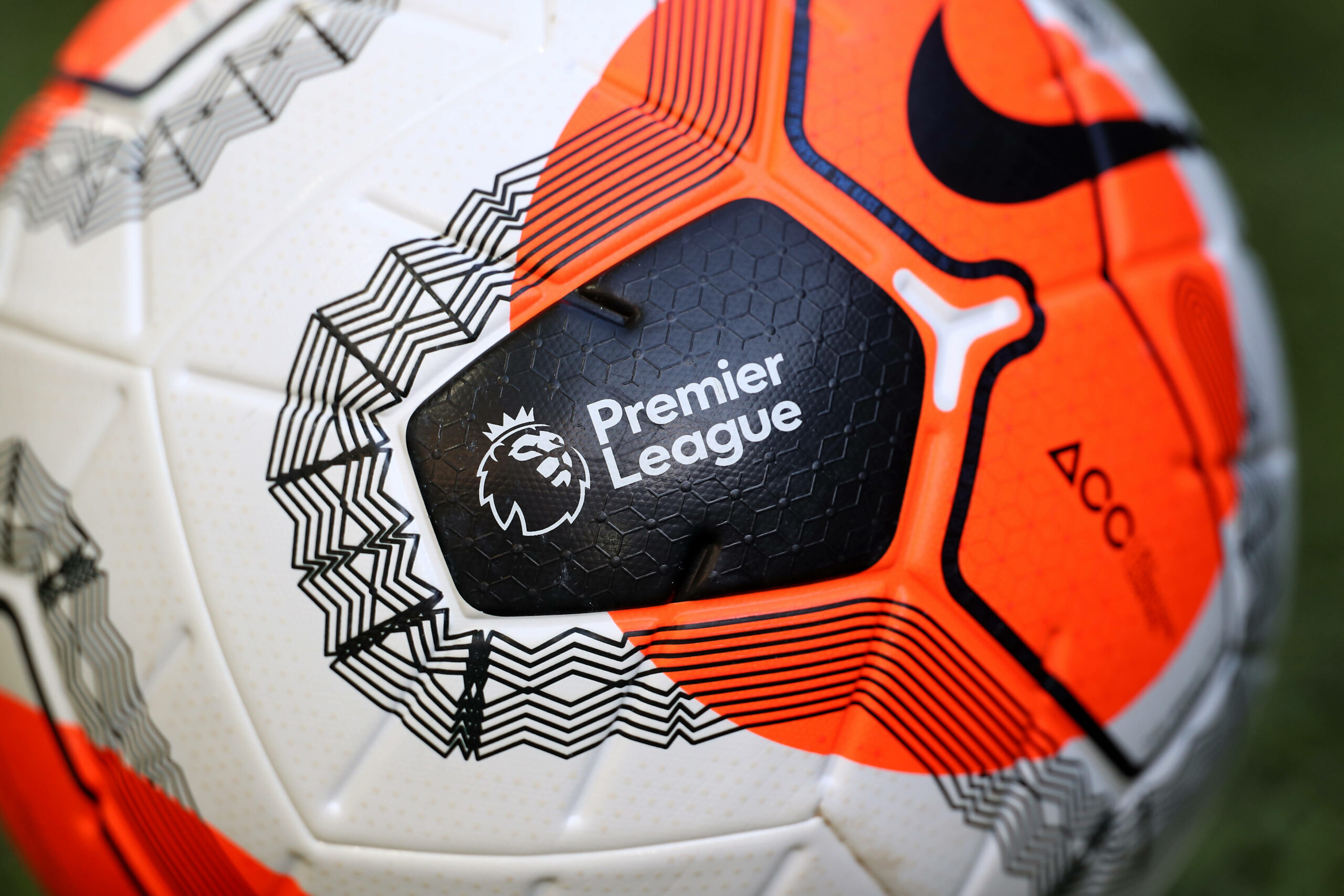 Premier League Logo Ball