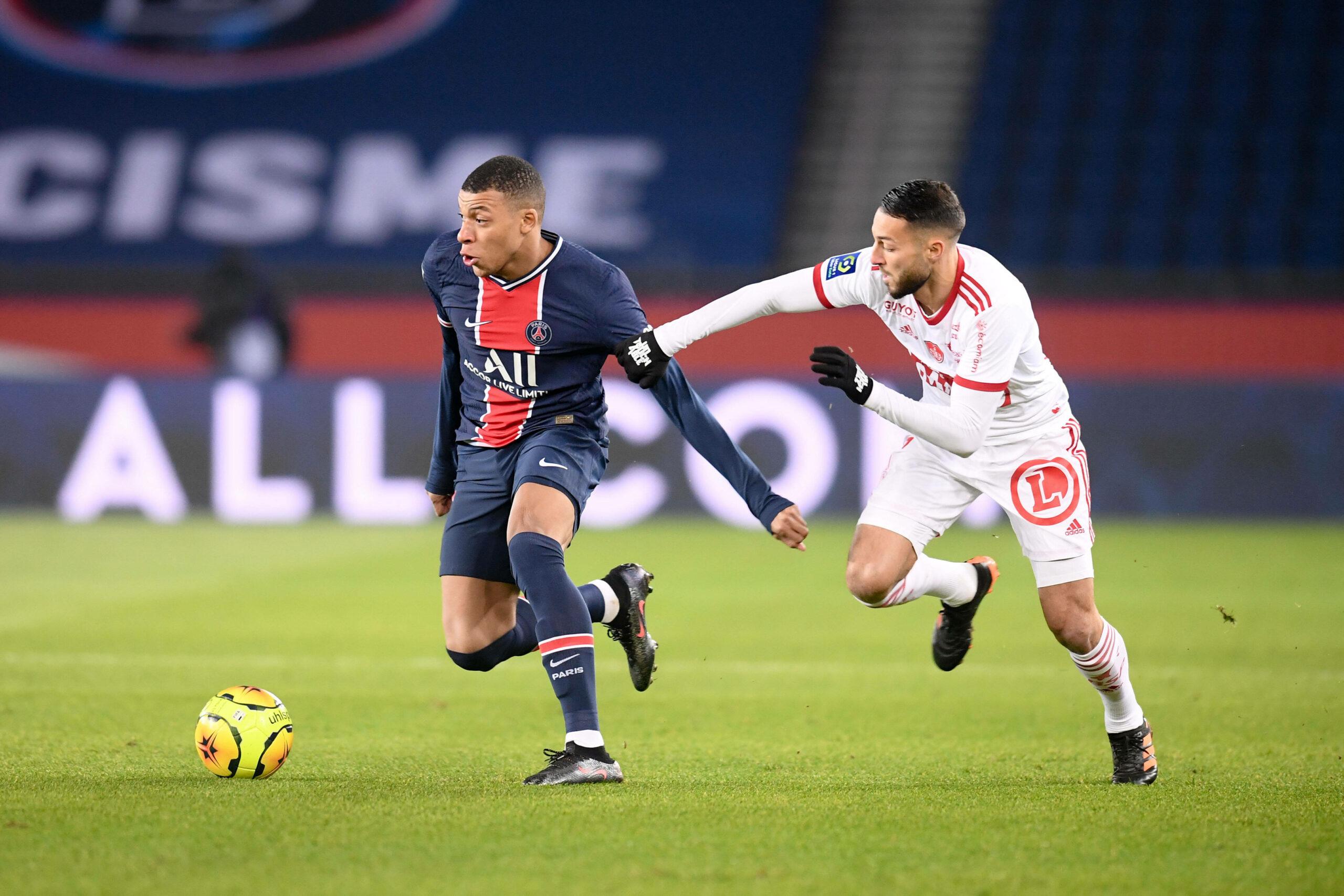 Mbappé (PSG) gegen Stade Brest