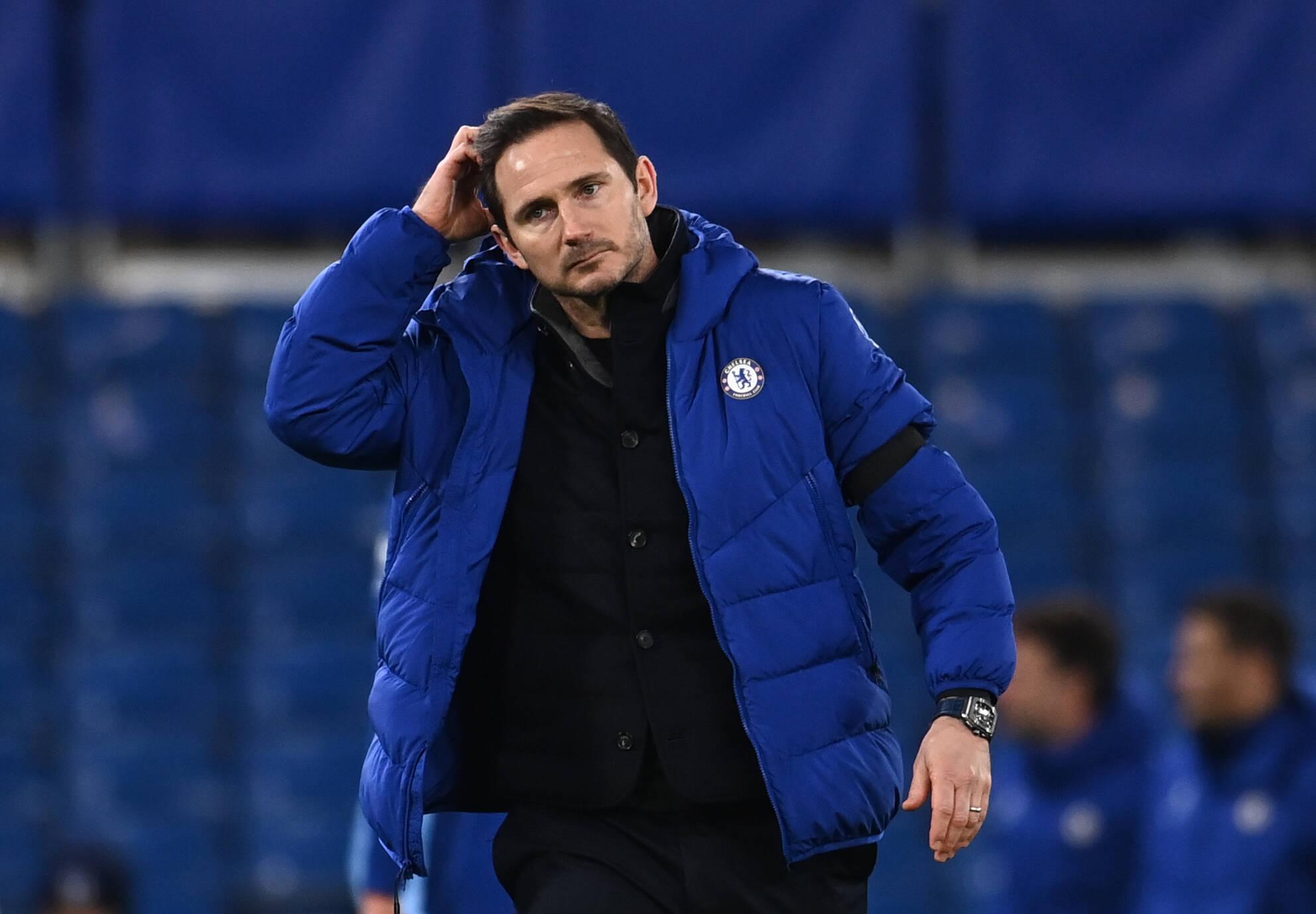 Frank Lampard, nachdenklich