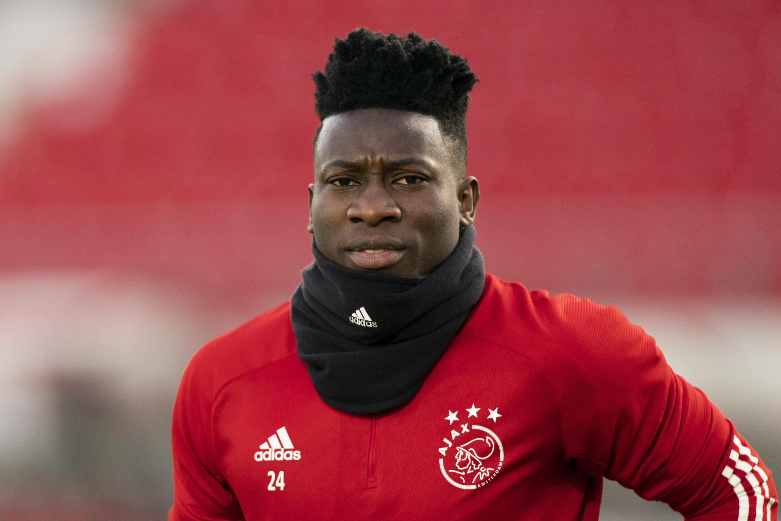 Onana (Ajax) gegen Alkmaar