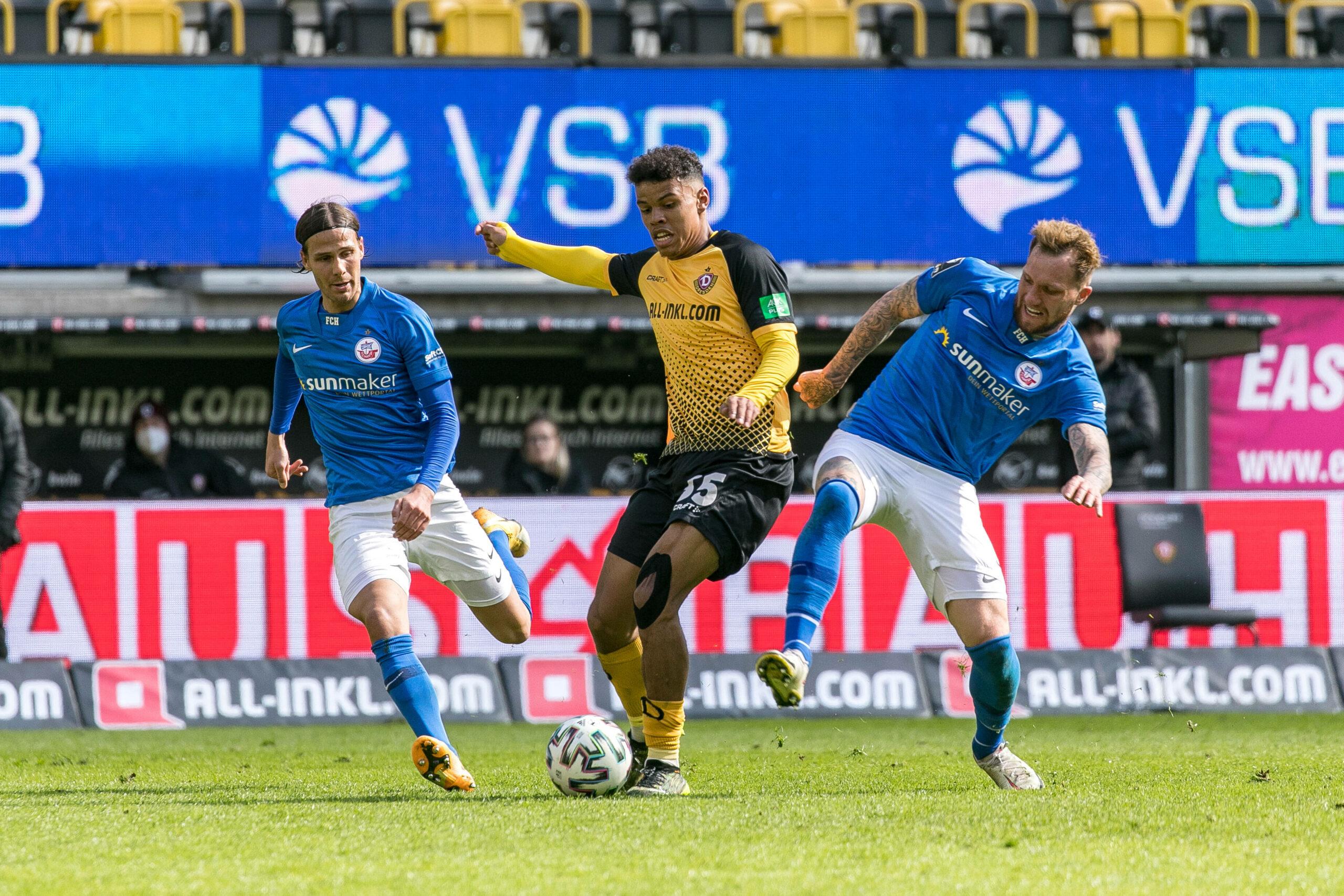 3.Liga Dynamo Dresden Hansa Rostock 1860 München FC Ingolstadt