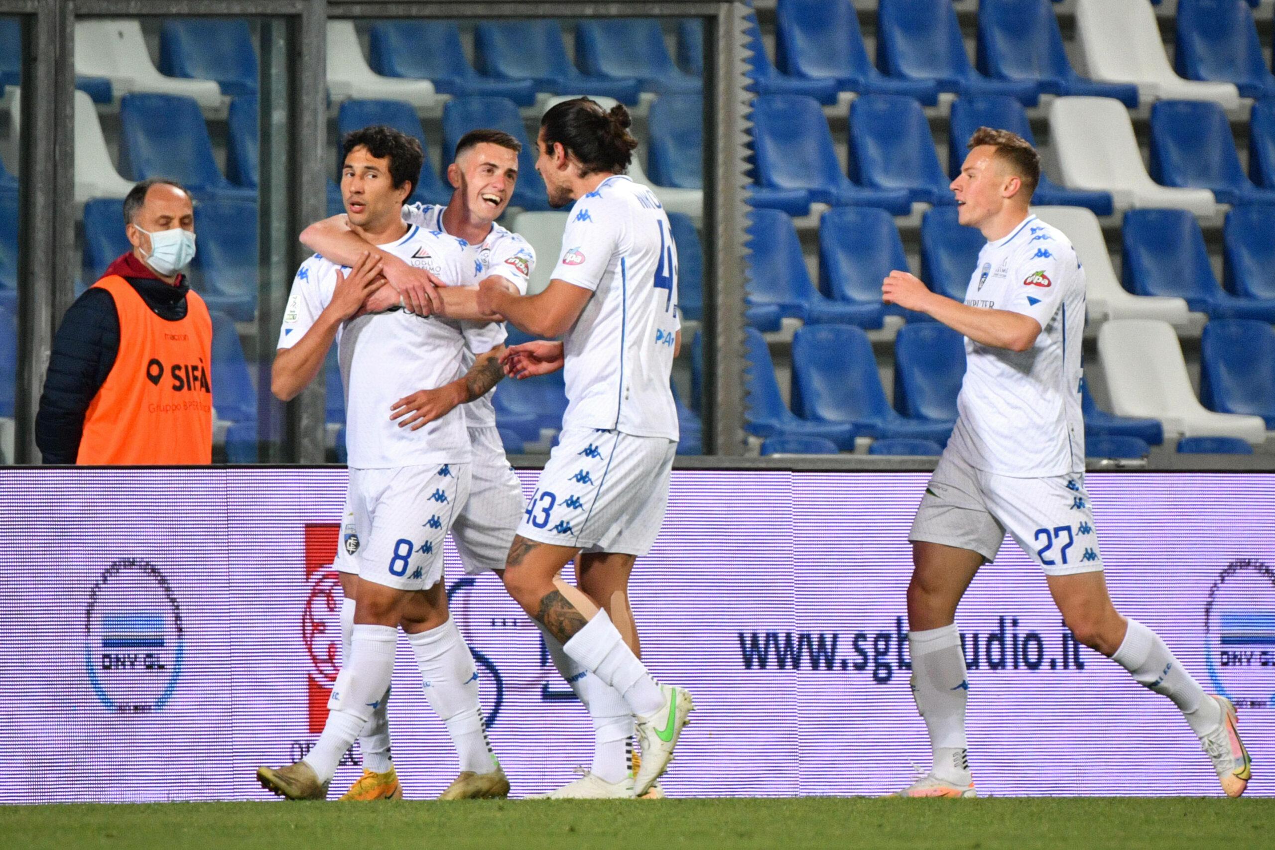 Serie A Empoli Salernitana Serie B