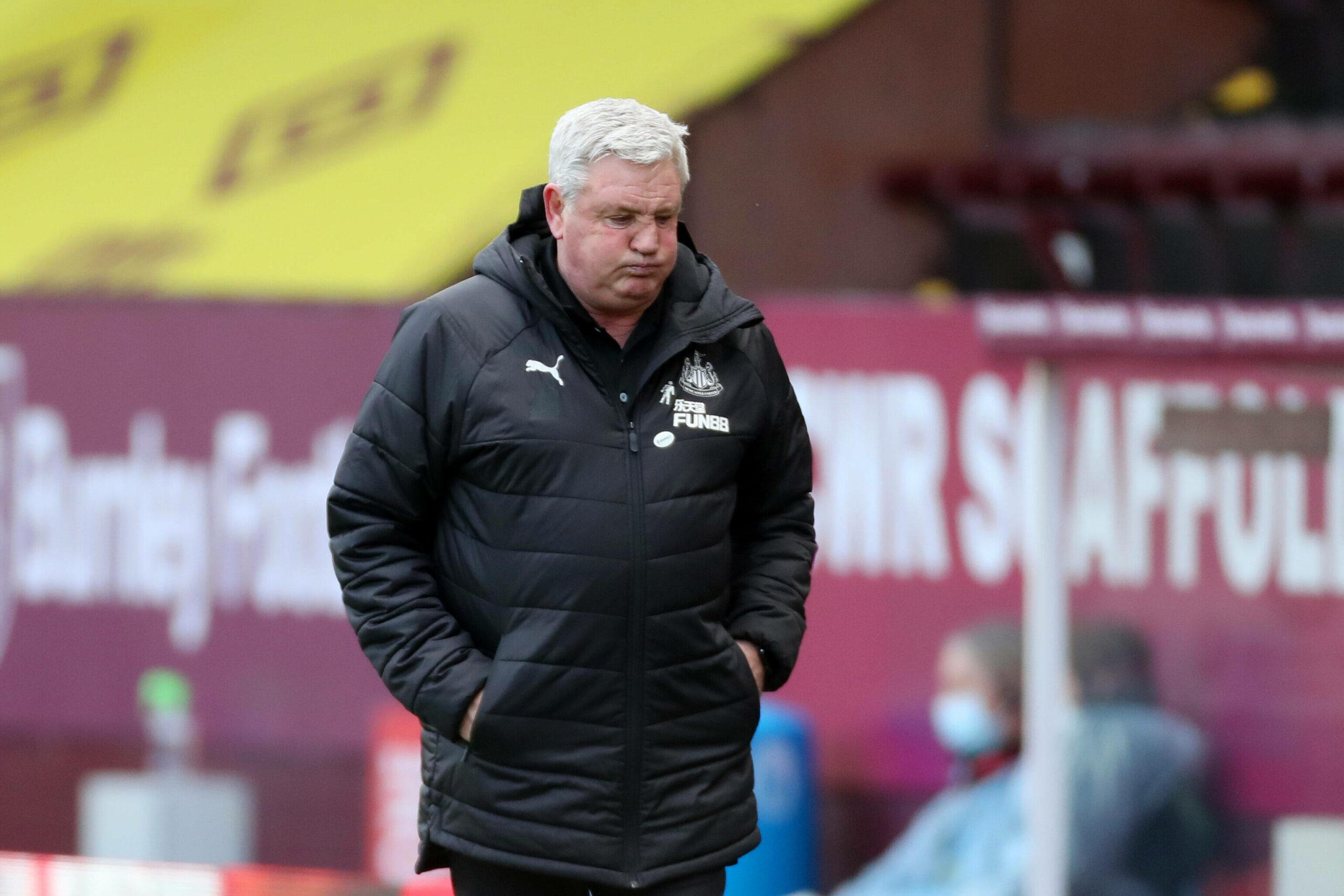 Steve Bruce (Newcastle) enttäuscht