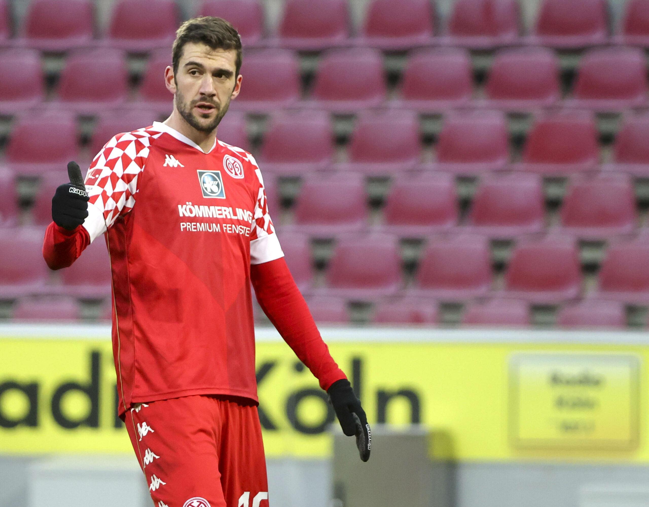 Stefan Bell (Mainz) gegen Köln