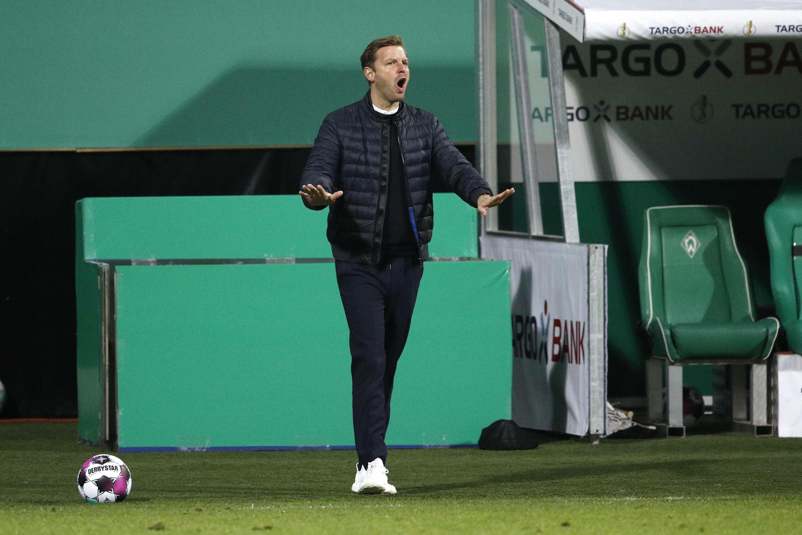 Florian Kohfeldt (Werder Bremen) gegen Leipzig