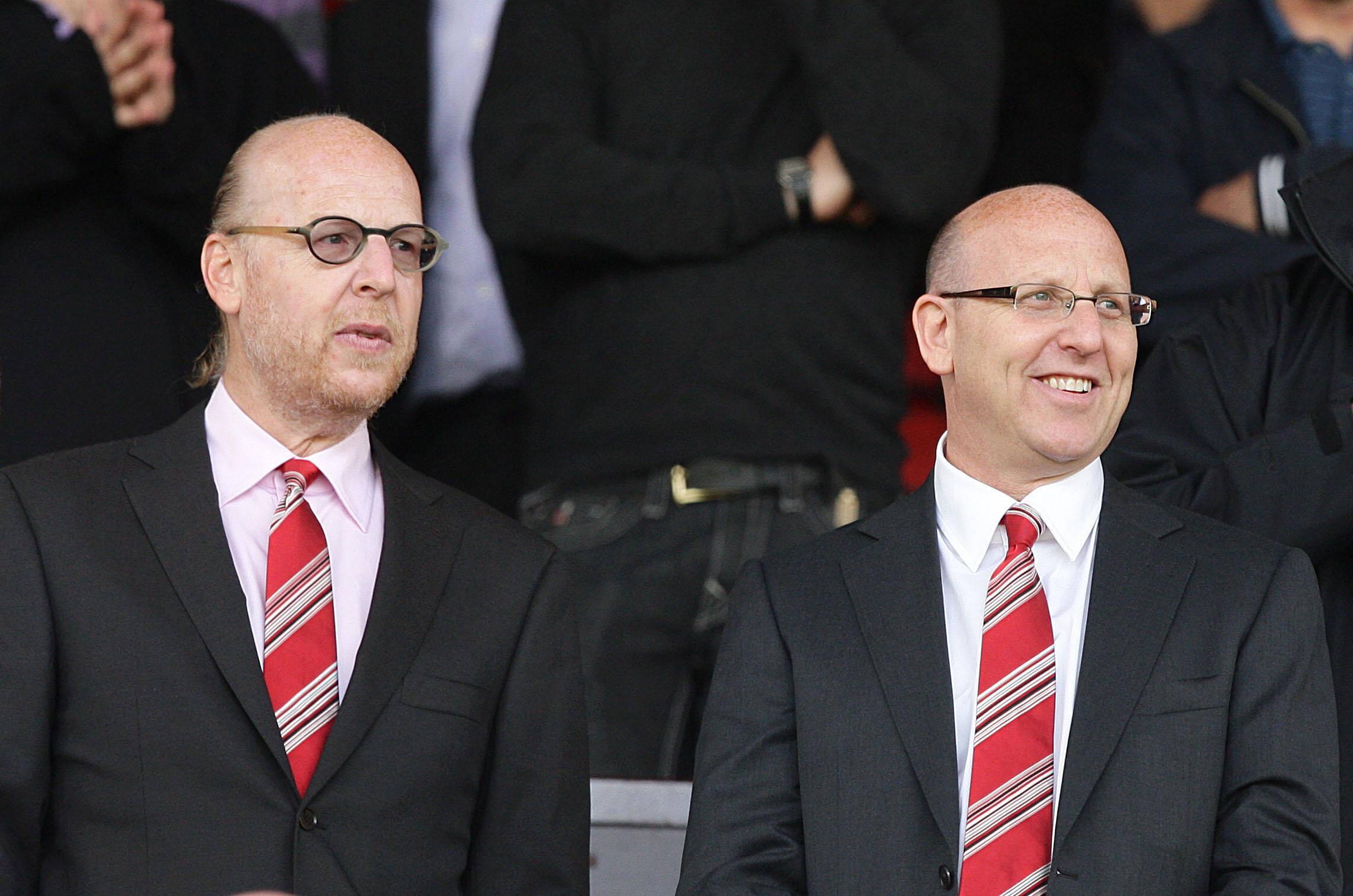 Joel und Avram Glazer (Besitzer von Manchester United)