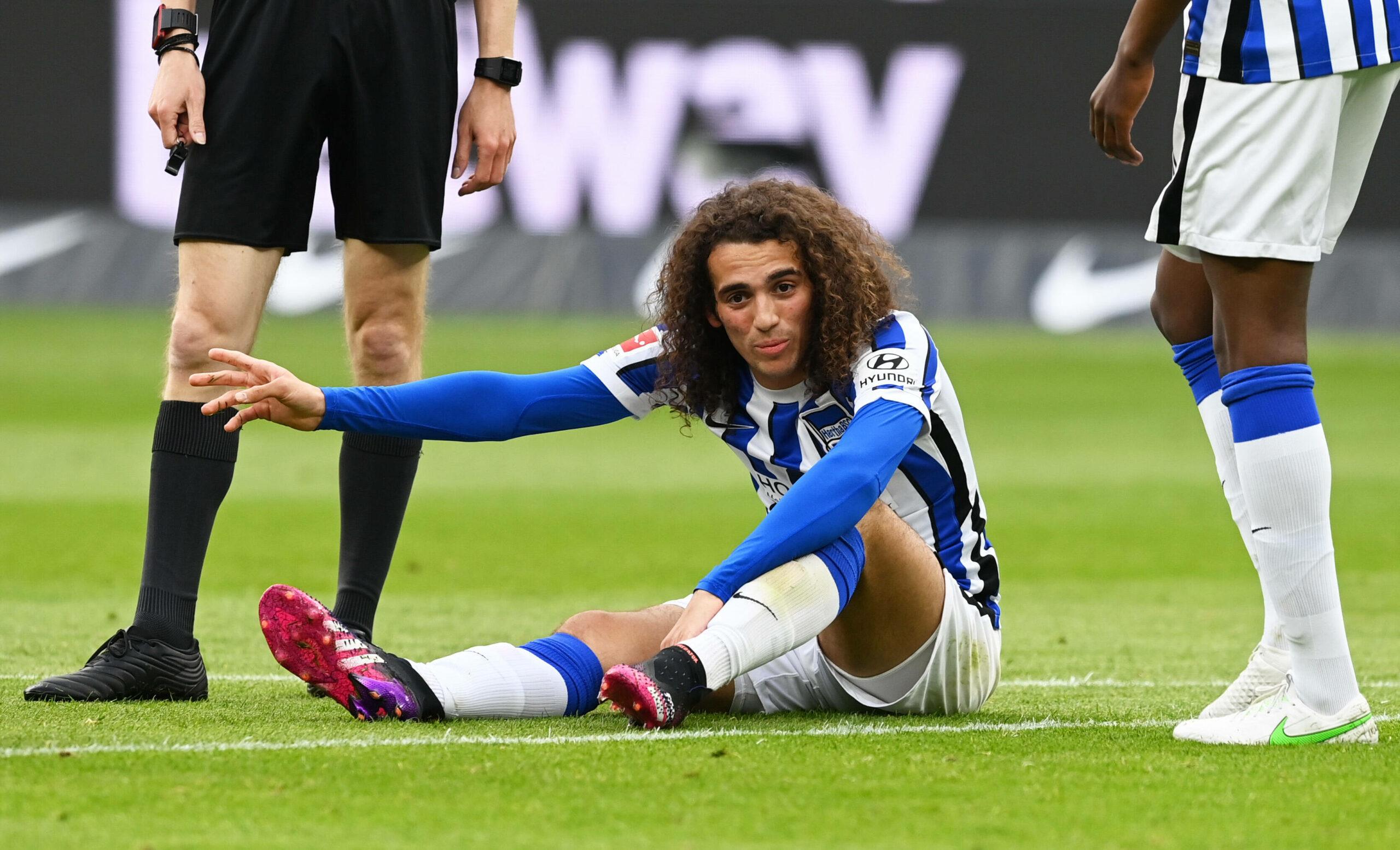 Guendouzi (Hertha) hat sich verletzt