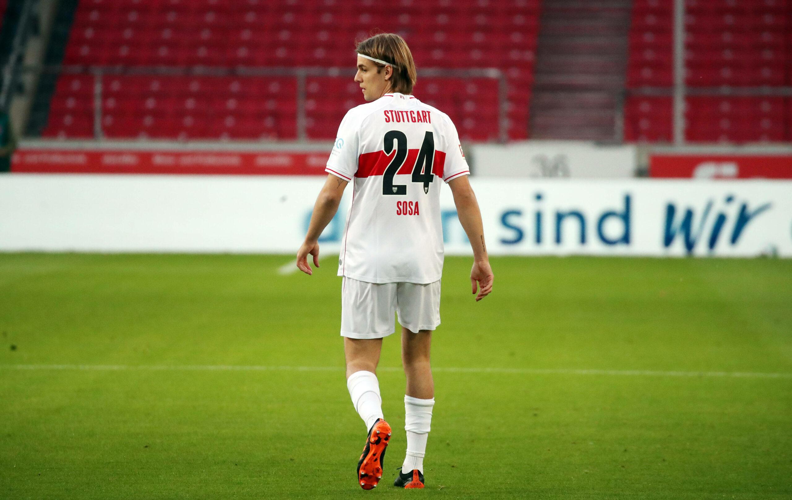 Borna Sosa vom VfB Stuttgart wollte für das DFB-Team spielen