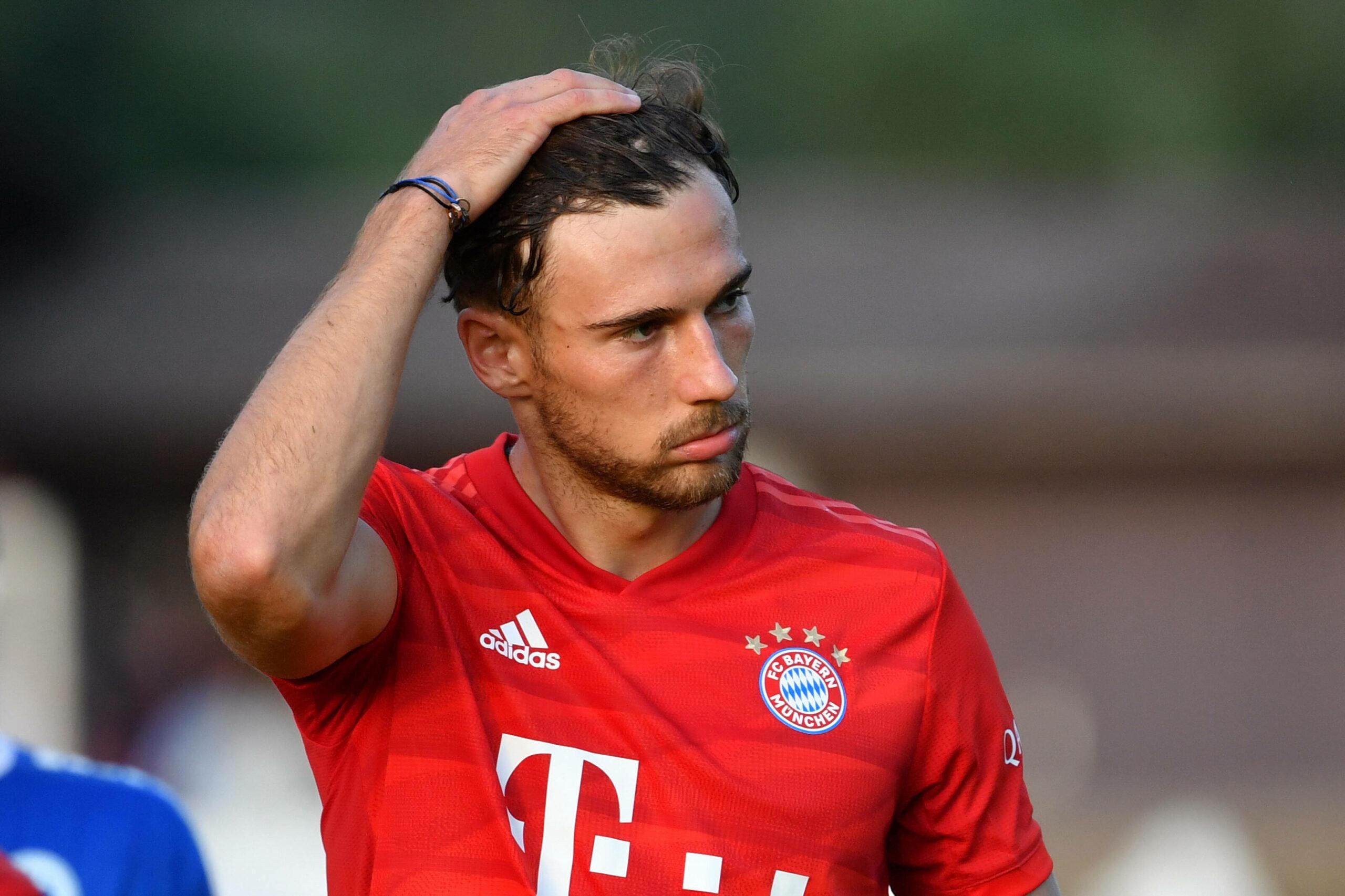 FC Bayern Goretzka Saisonaus