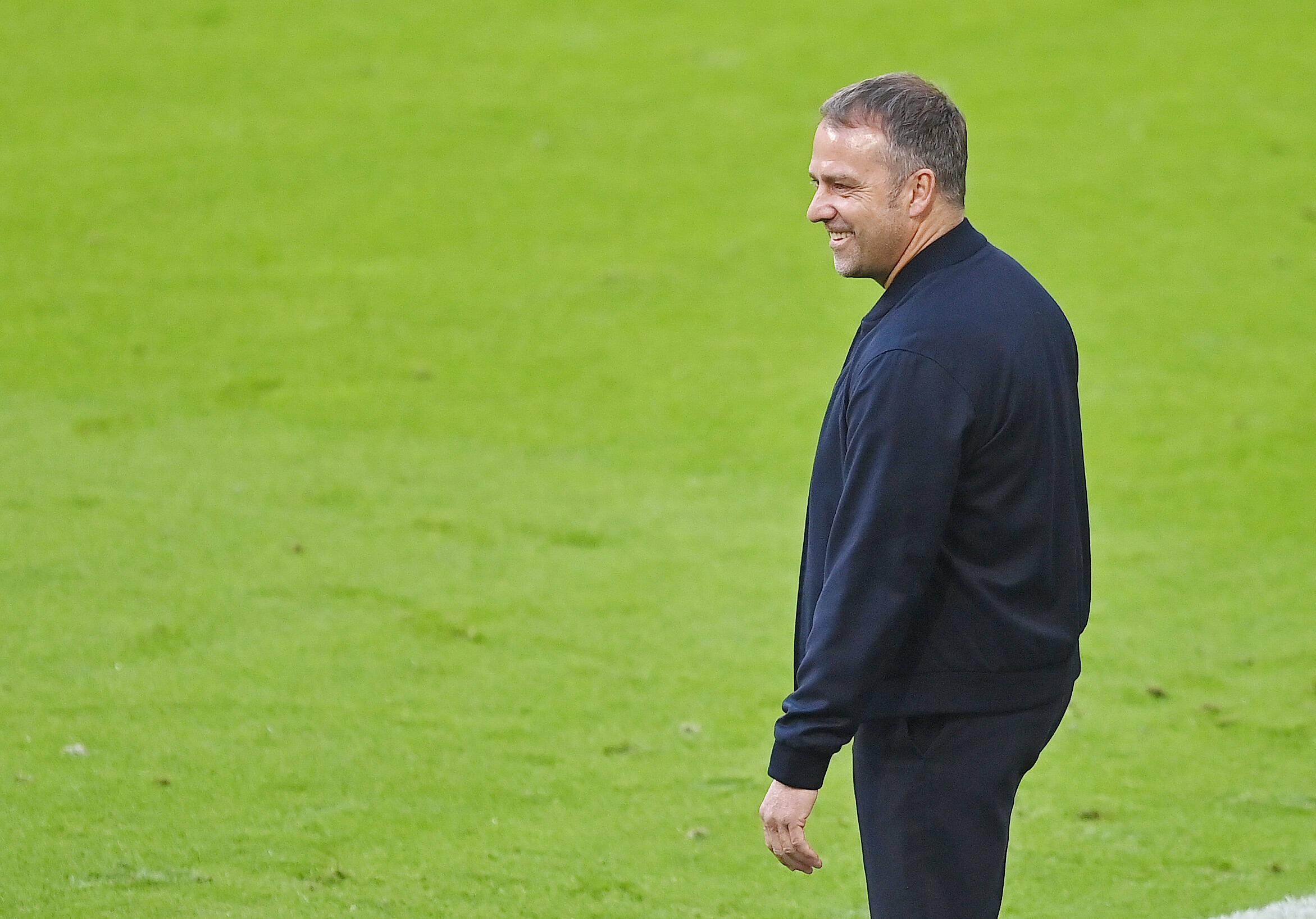 Hansi Flick (FC Bayern München) gegen Gladbach