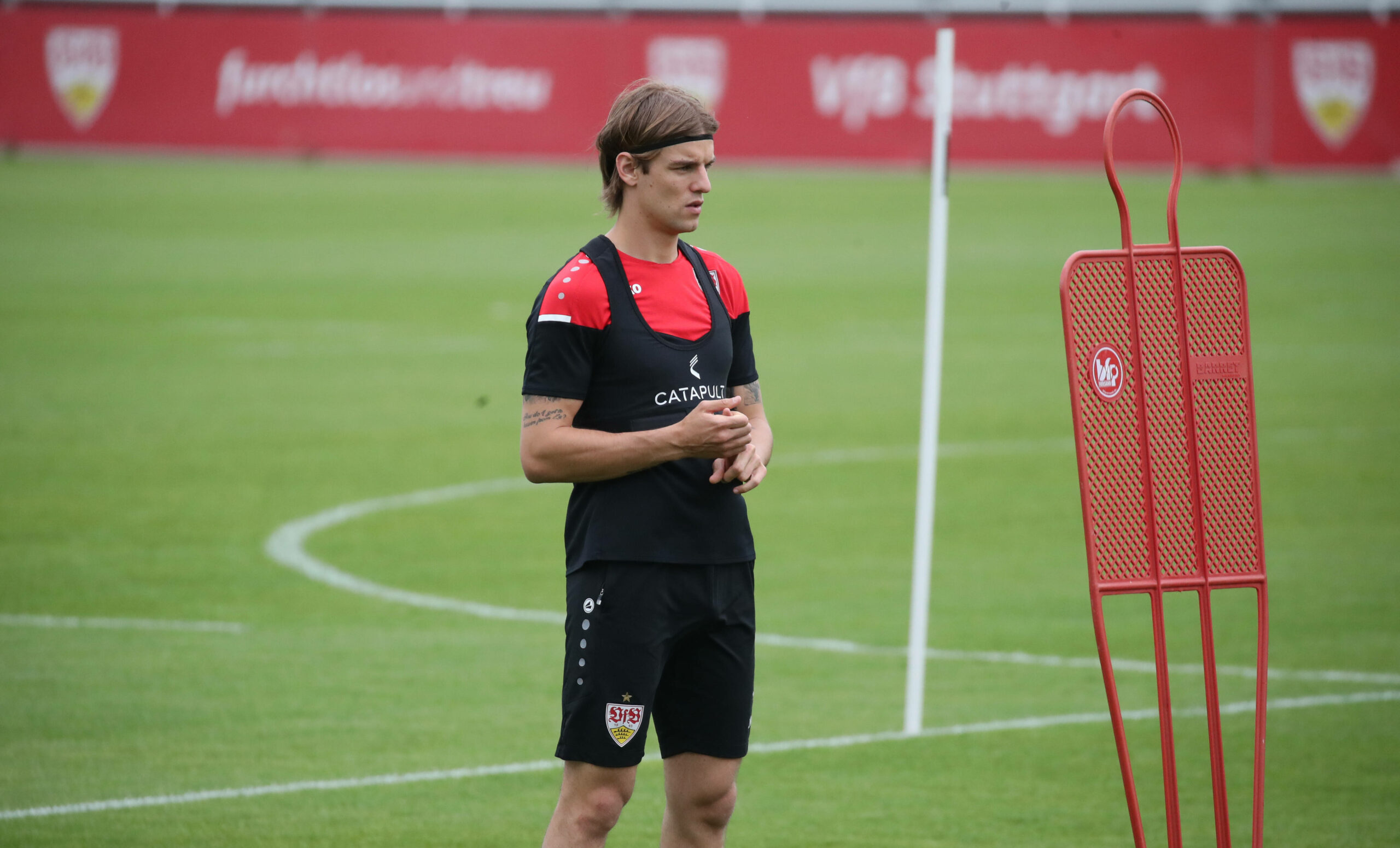 Borna Sosa (VfB Stuttgart) im Training