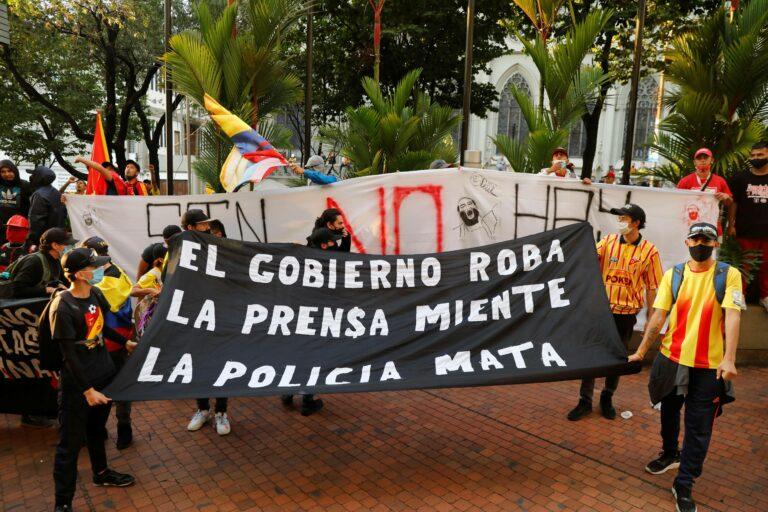 Straßenkämpfe und Proteste: Keine Austragung der Copa America in Kolumbien