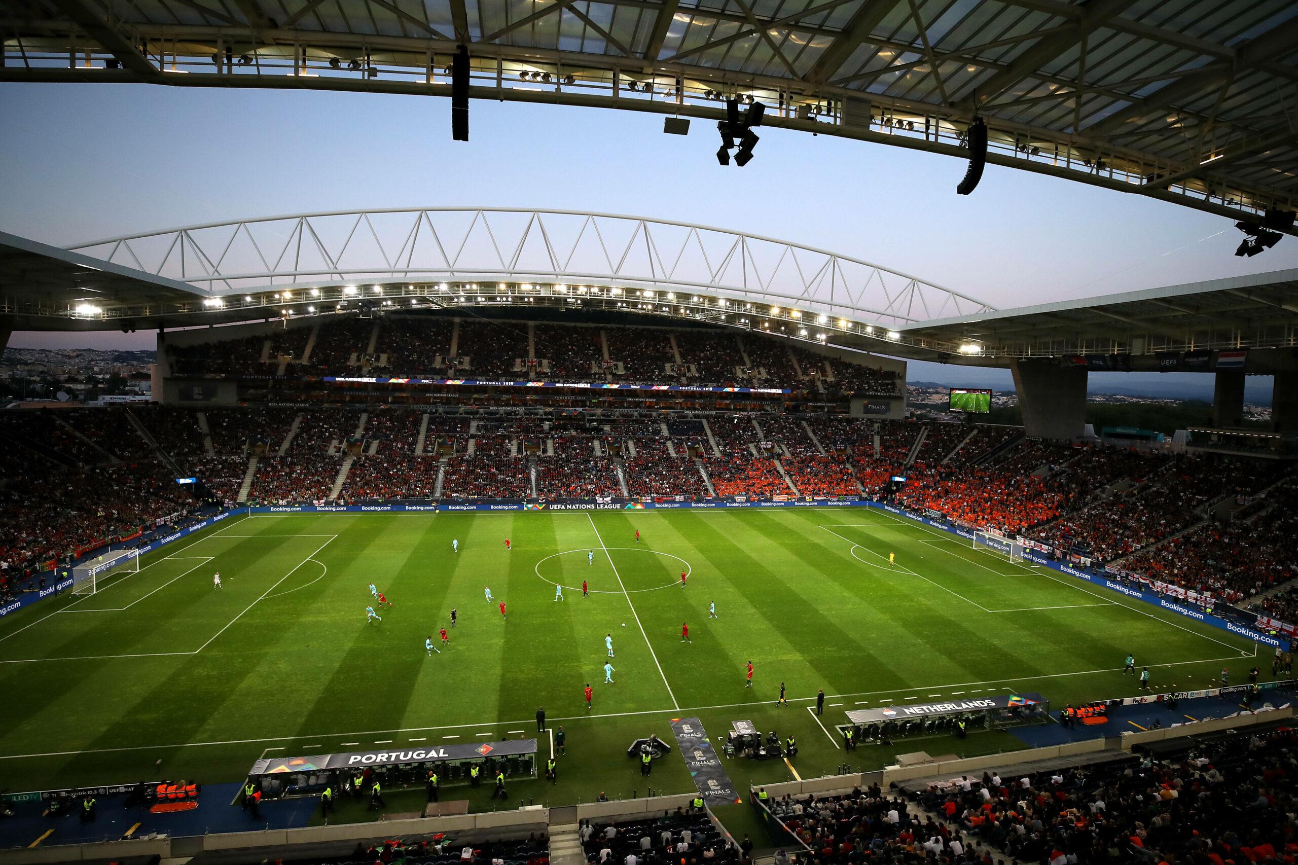Das Estadio do Dragao in Porto
