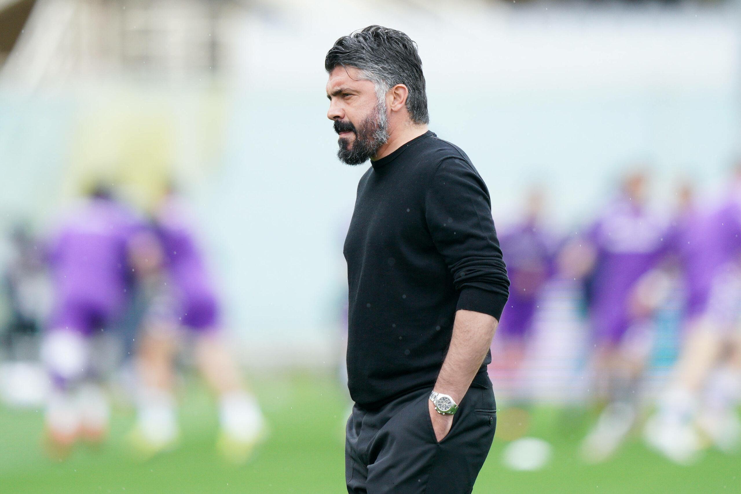Gennaro Gattuso (Napoli) gegen Florenz