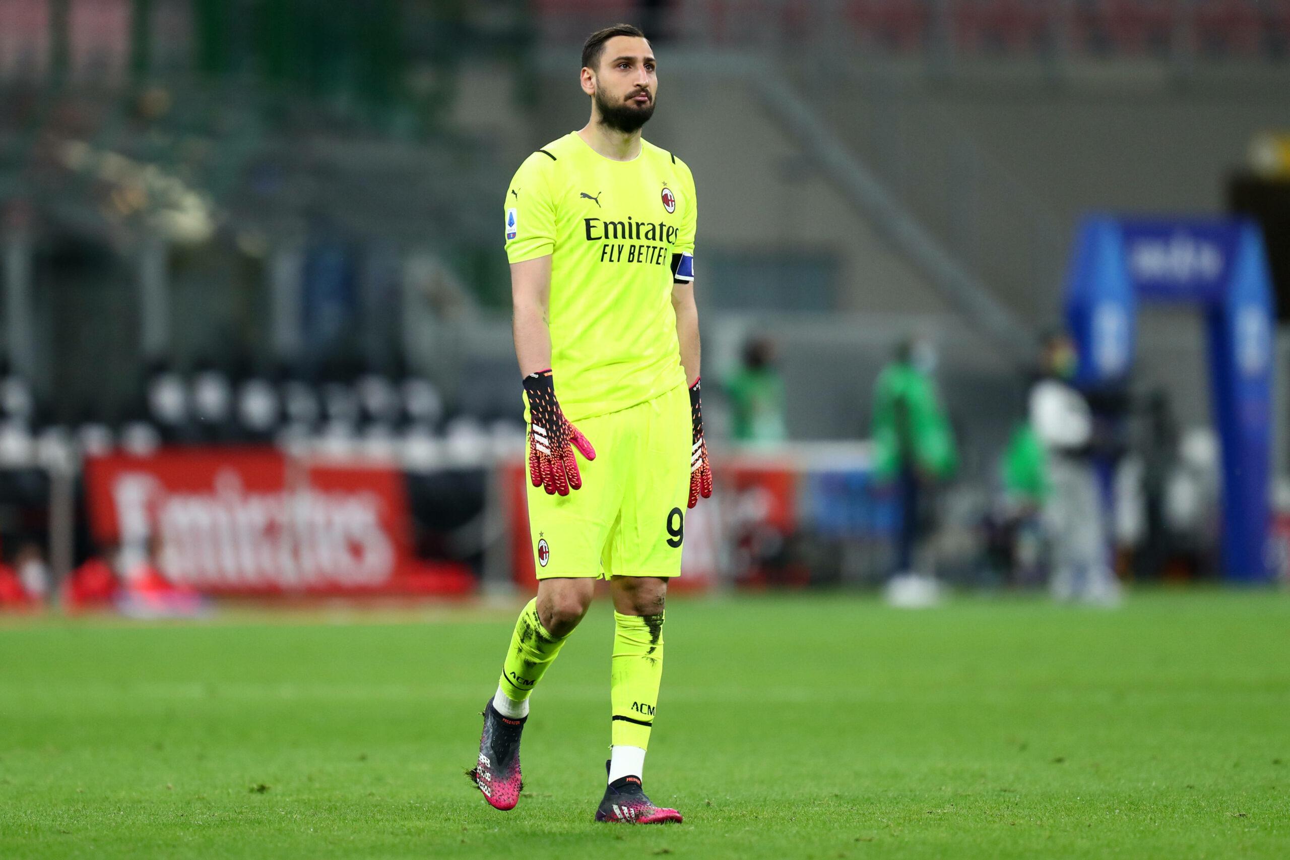 Donnarumma (AC Milan) gegen Cagliari