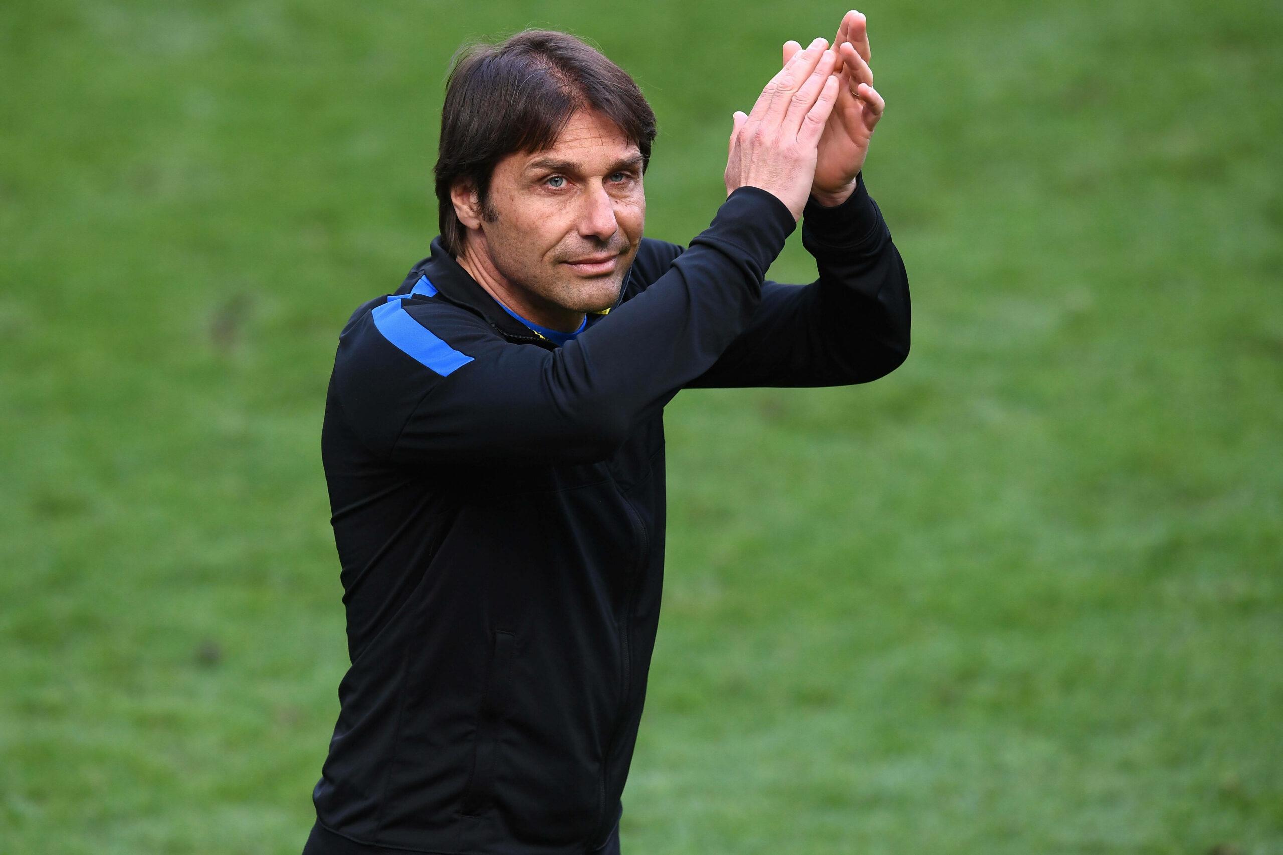 Antonio Conte (Inter Mailand) gegen Udinese