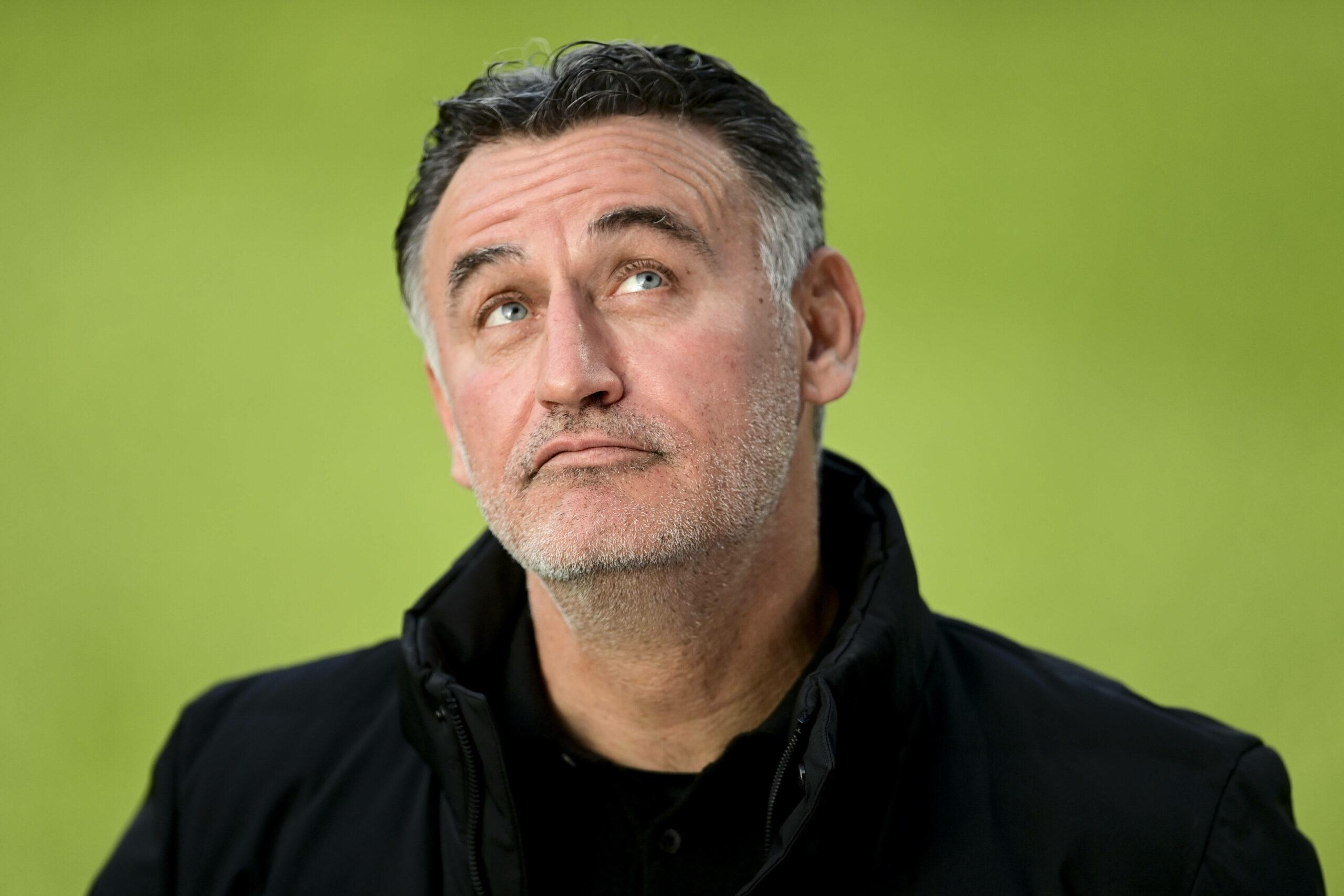 Christophe Galtier (Lille) gegen Angers