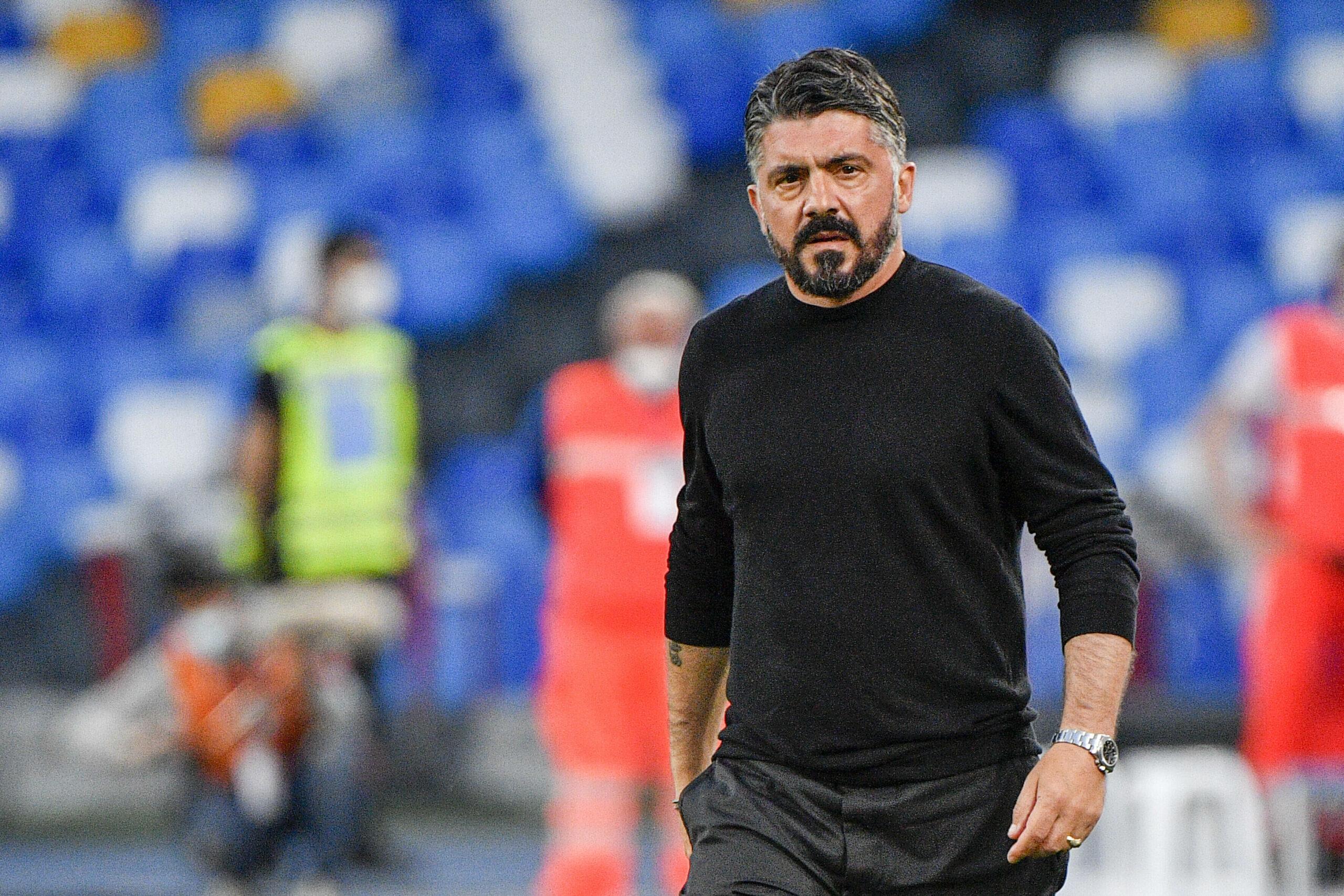 Gennaro Gattuso (SSC Neapel) enttäuscht