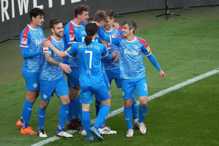 Bundesliga | Kiel gewinnt Relegations-Hinspiel in Köln