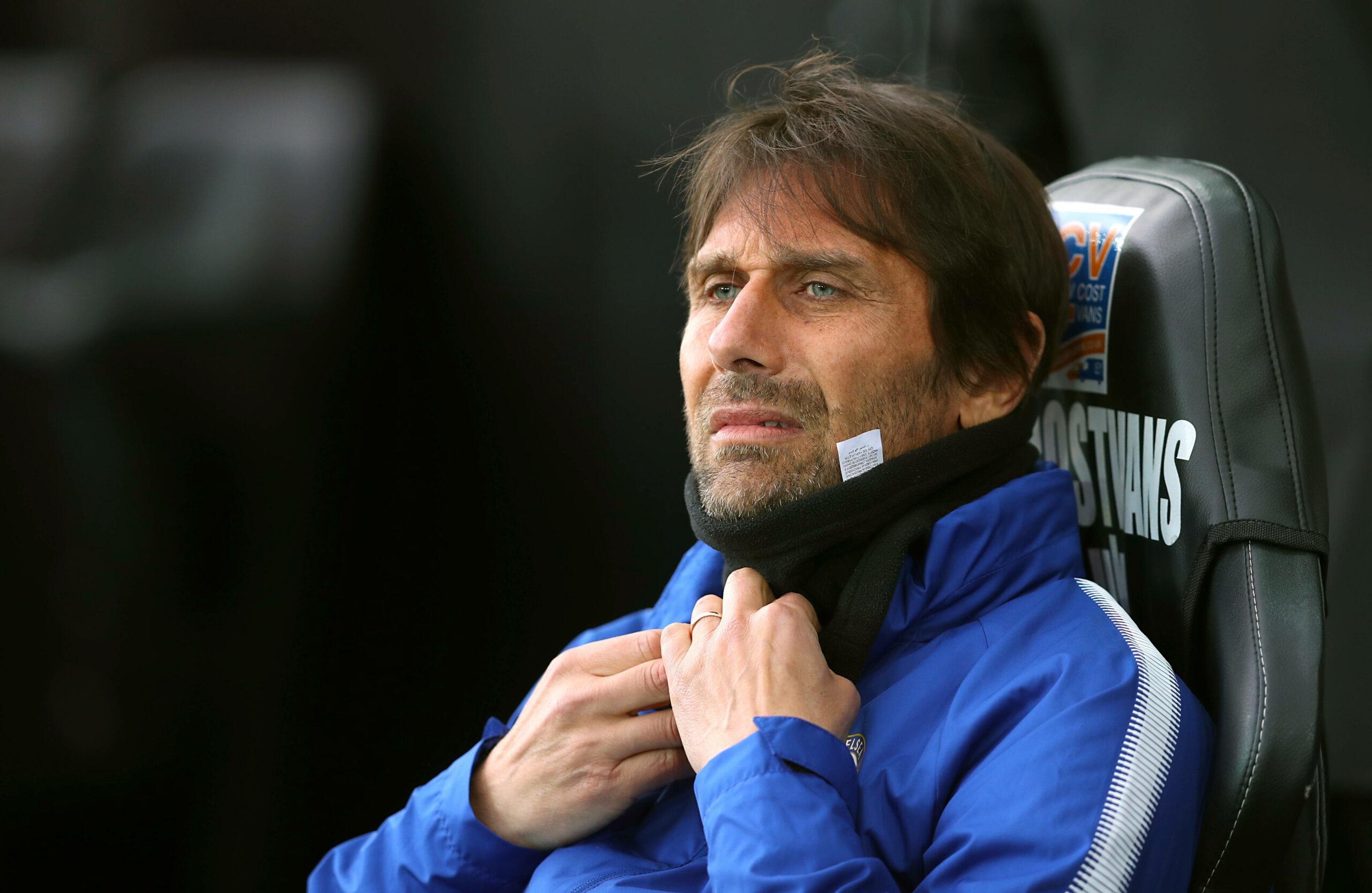 Antonio Conte auf der Trainerbank