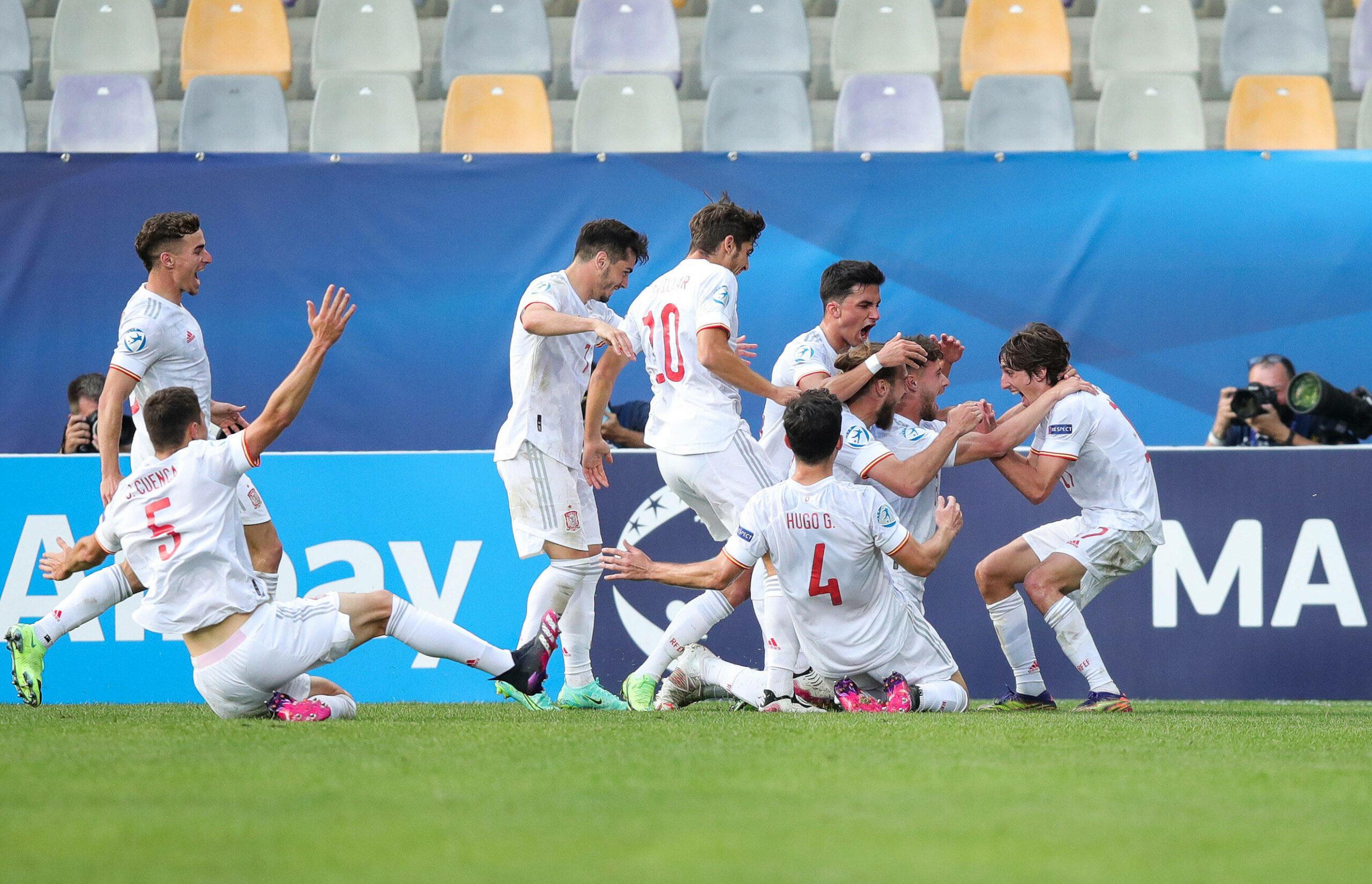 Spanien U21 EM bejubelt Treffer