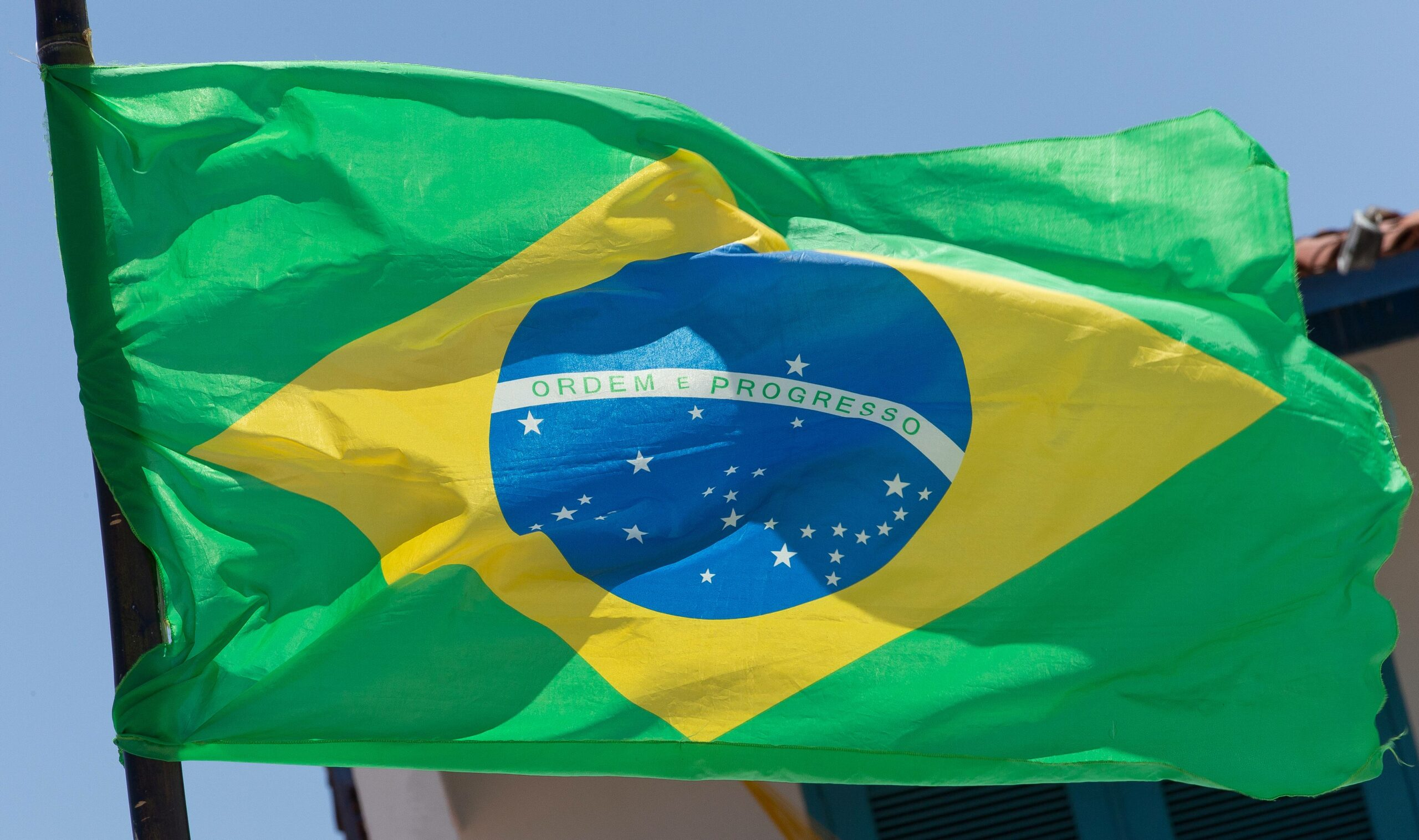 Brasilien Flagge WM 2014