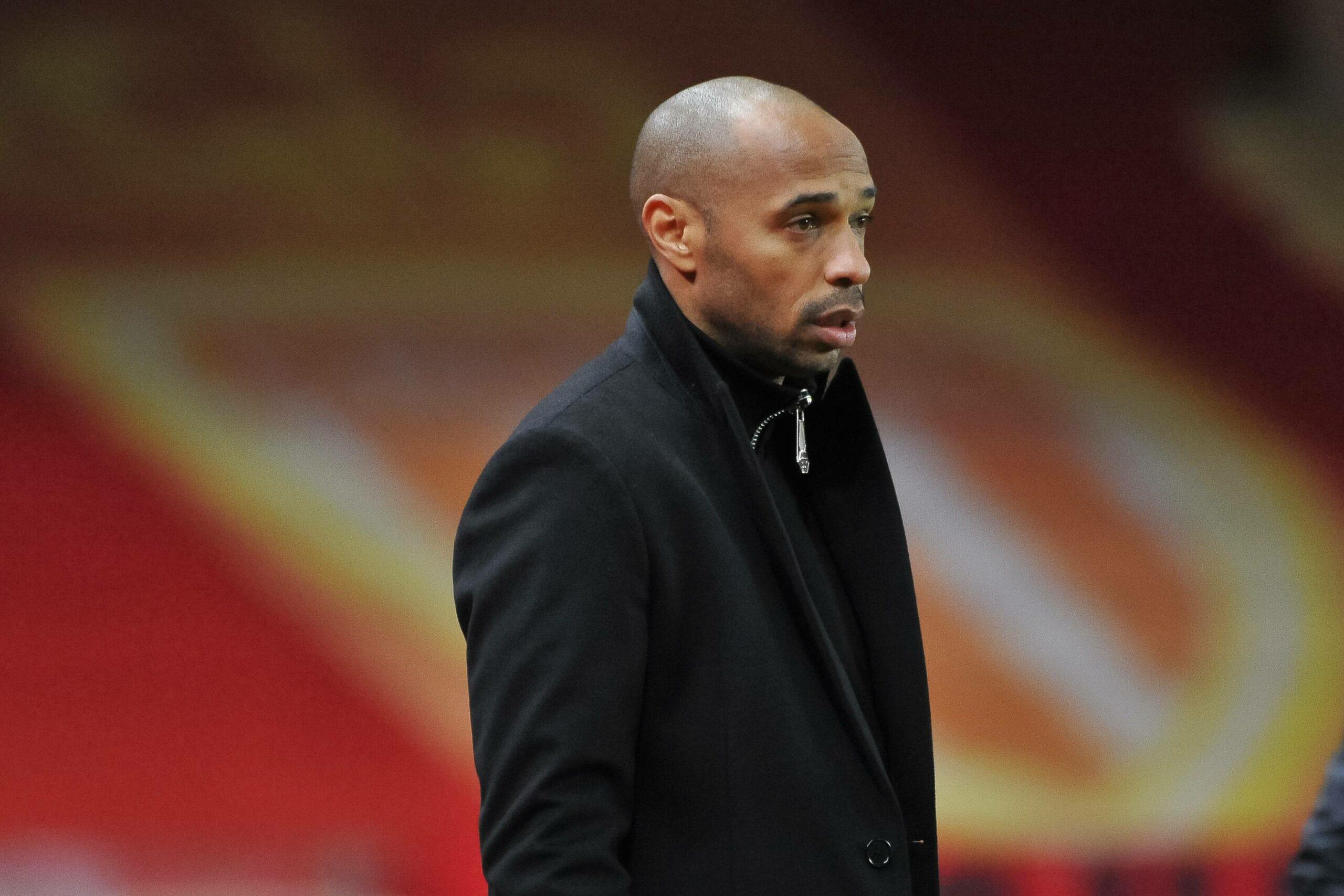 Thierry Henry als Trainer der AS Monaco