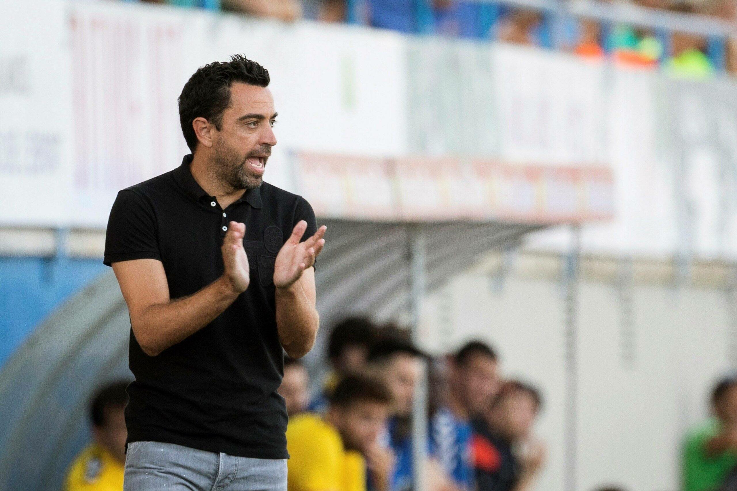 Barcelona Koeman Xavi Trainer