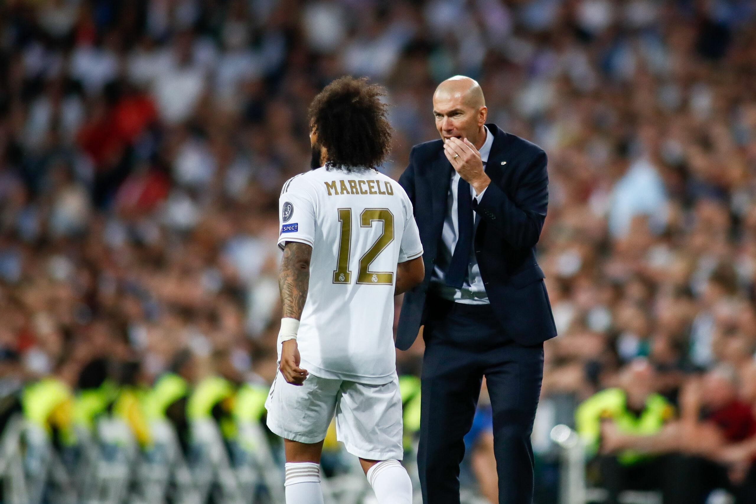 Zidane, Marcelo (beide Real Madrid) in der Champions League