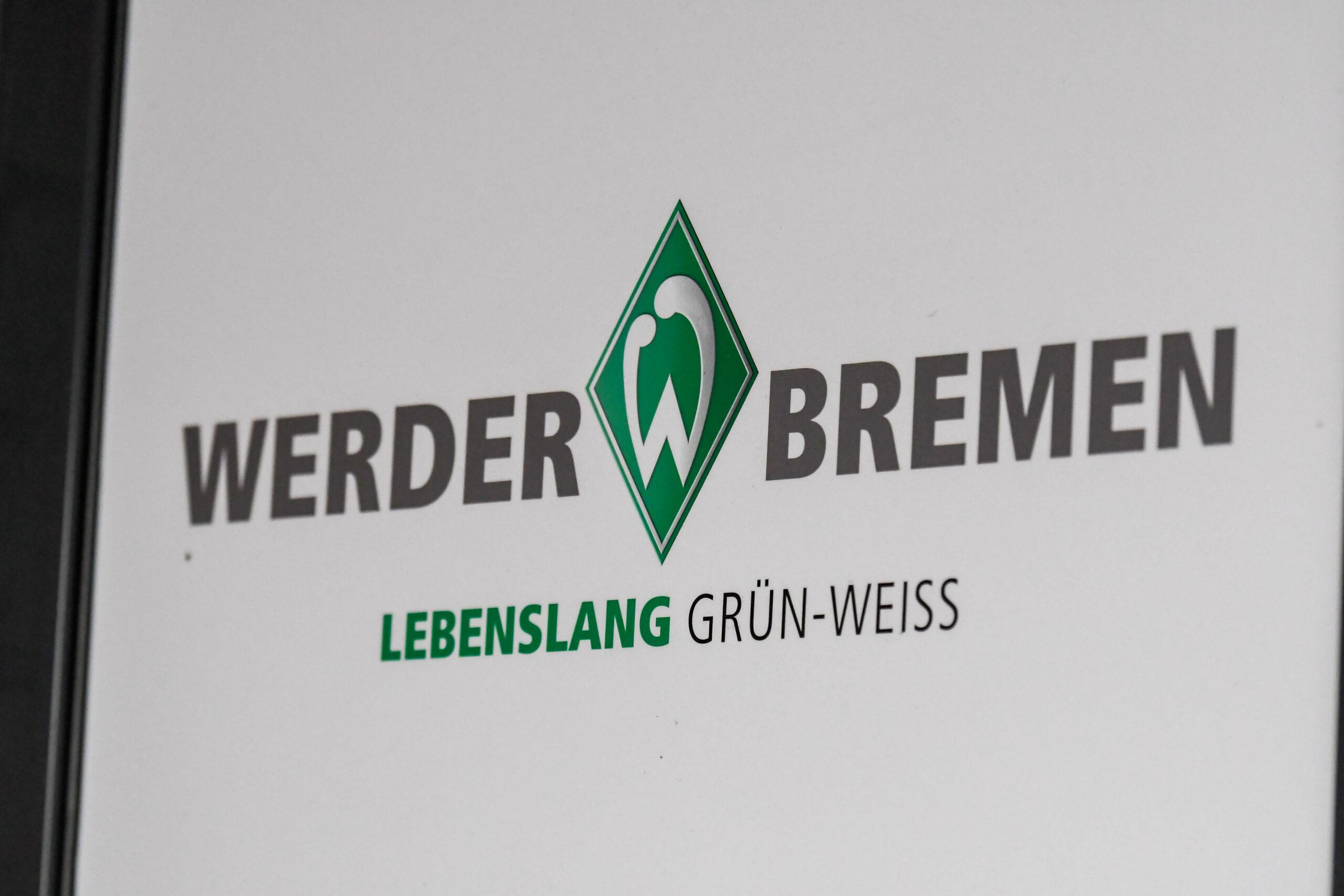 Werder Bremen Logo mit Spruch