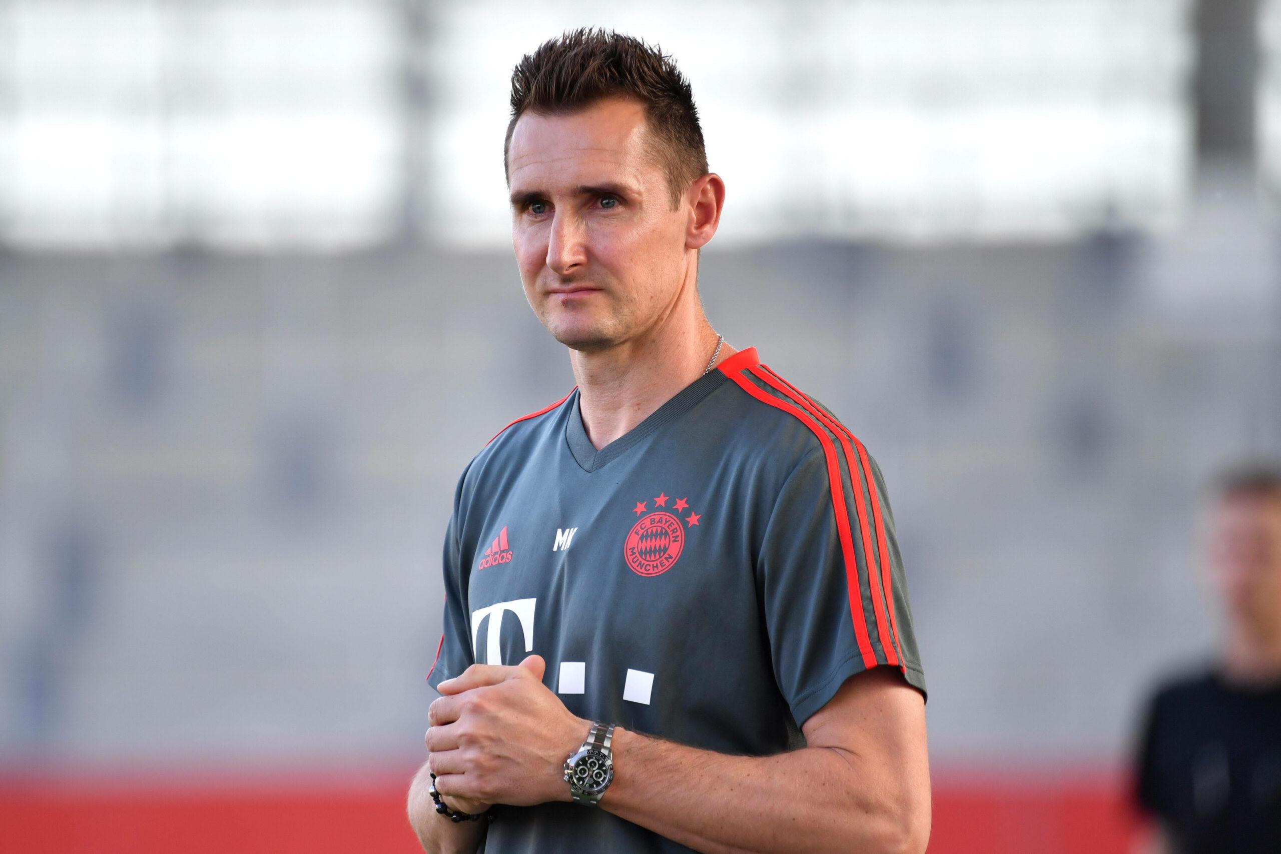 Miroslav Klose (FC Bayern) im Training